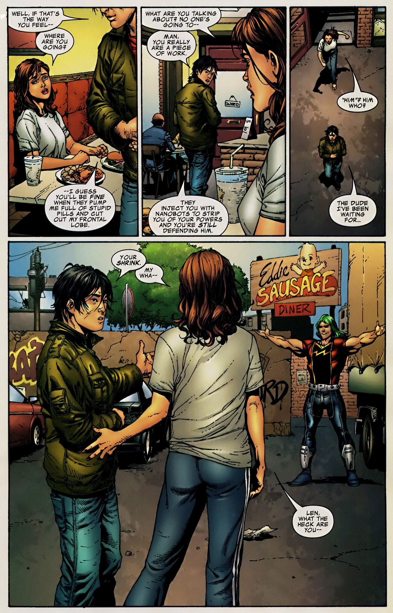 Read online The Incredible Hulk (2000) comic -  Issue #106 - 13