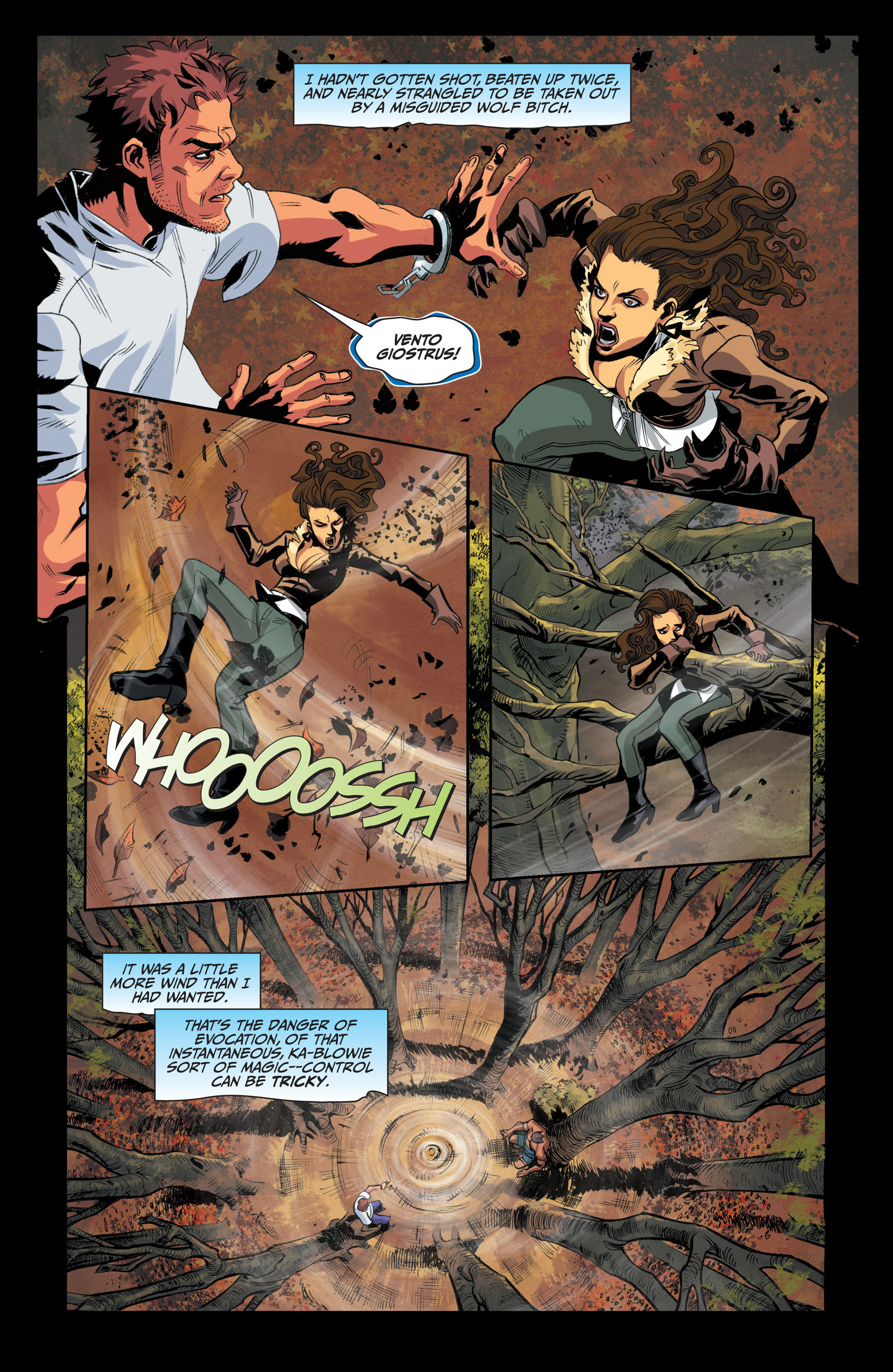 Read online Jim Butcher's The Dresden Files: Fool Moon comic -  Issue #4 - 12