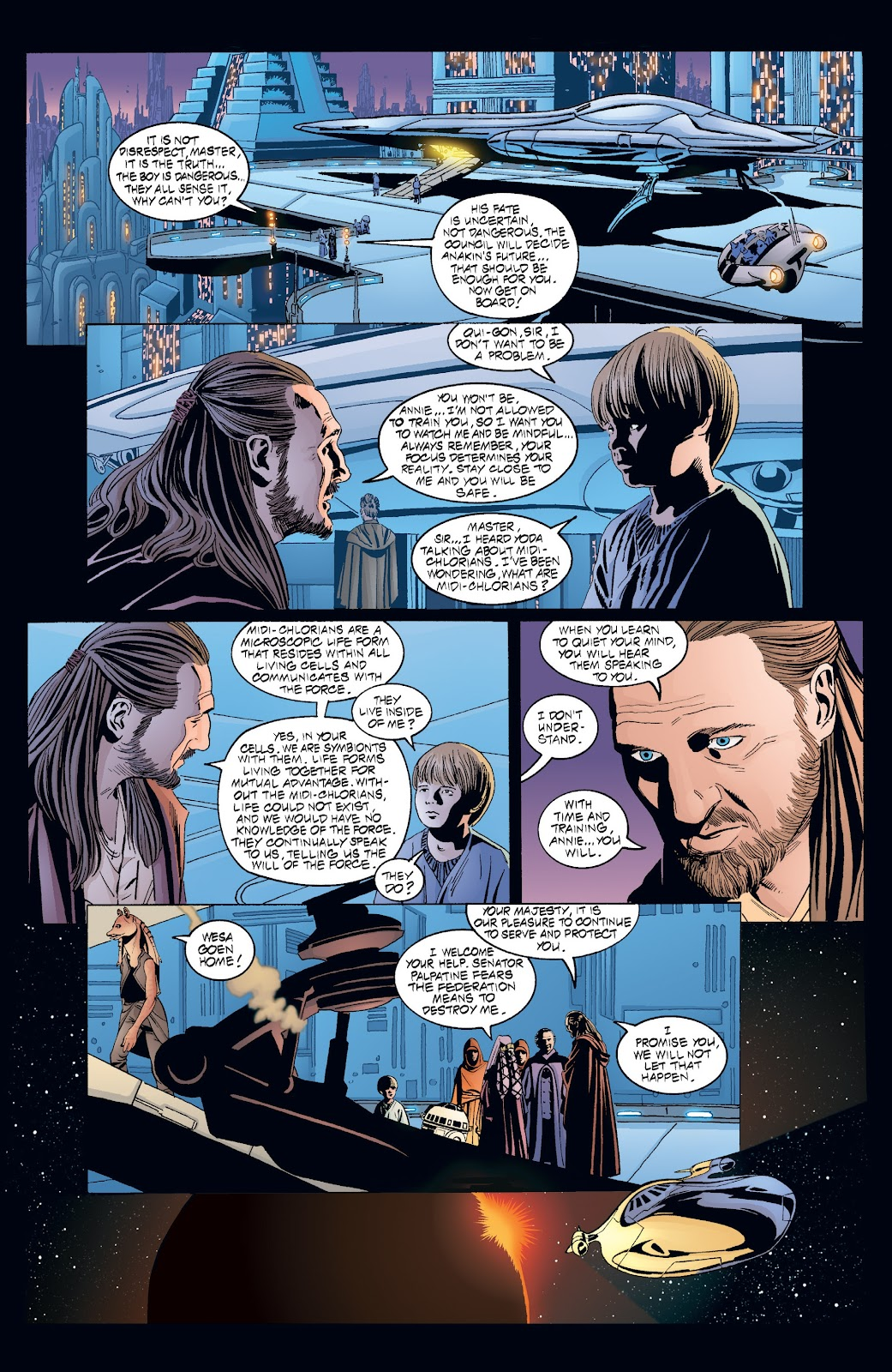 Read online Star Wars Legends: Rise of the Sith - Epic Collection comic -  Issue # TPB 2 (Part 4) - 8