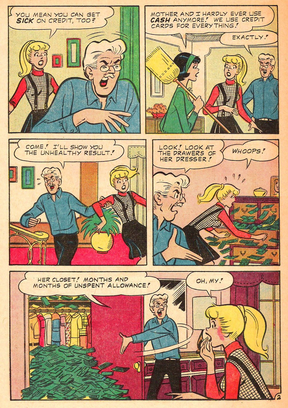 Read online Archie's Girls Betty and Veronica comic -  Issue #122 - 30