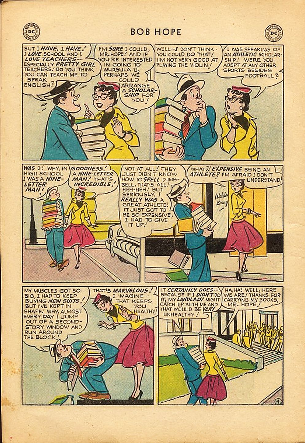 The Adventures of Bob Hope issue 42 - Page 6