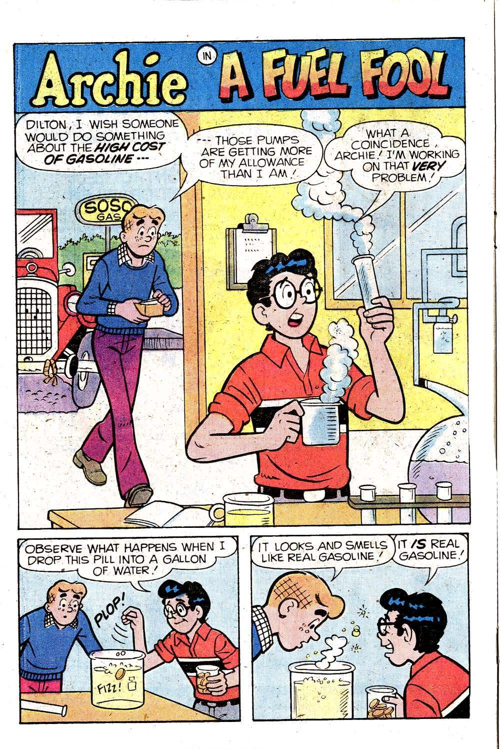Read online Archie (1960) comic -  Issue #287 - 20