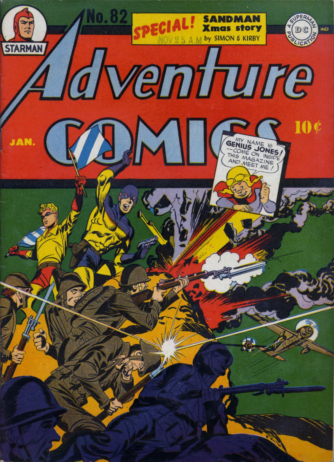 Read online Adventure Comics (1938) comic -  Issue #82 - 2