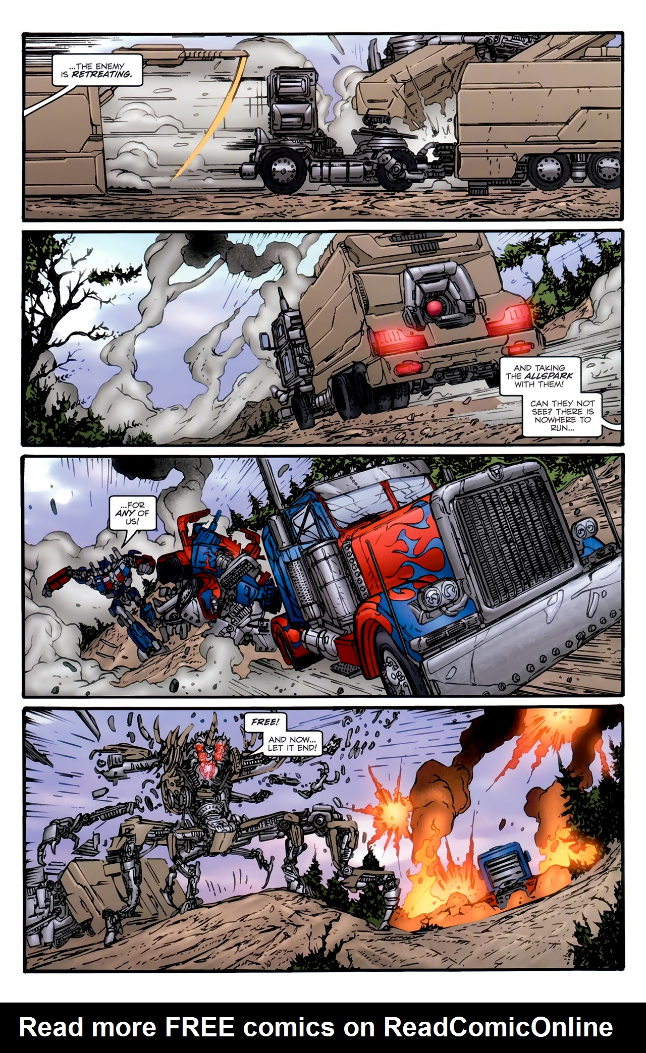 Read online Transformers: Nefarious comic -  Issue #6 - 18
