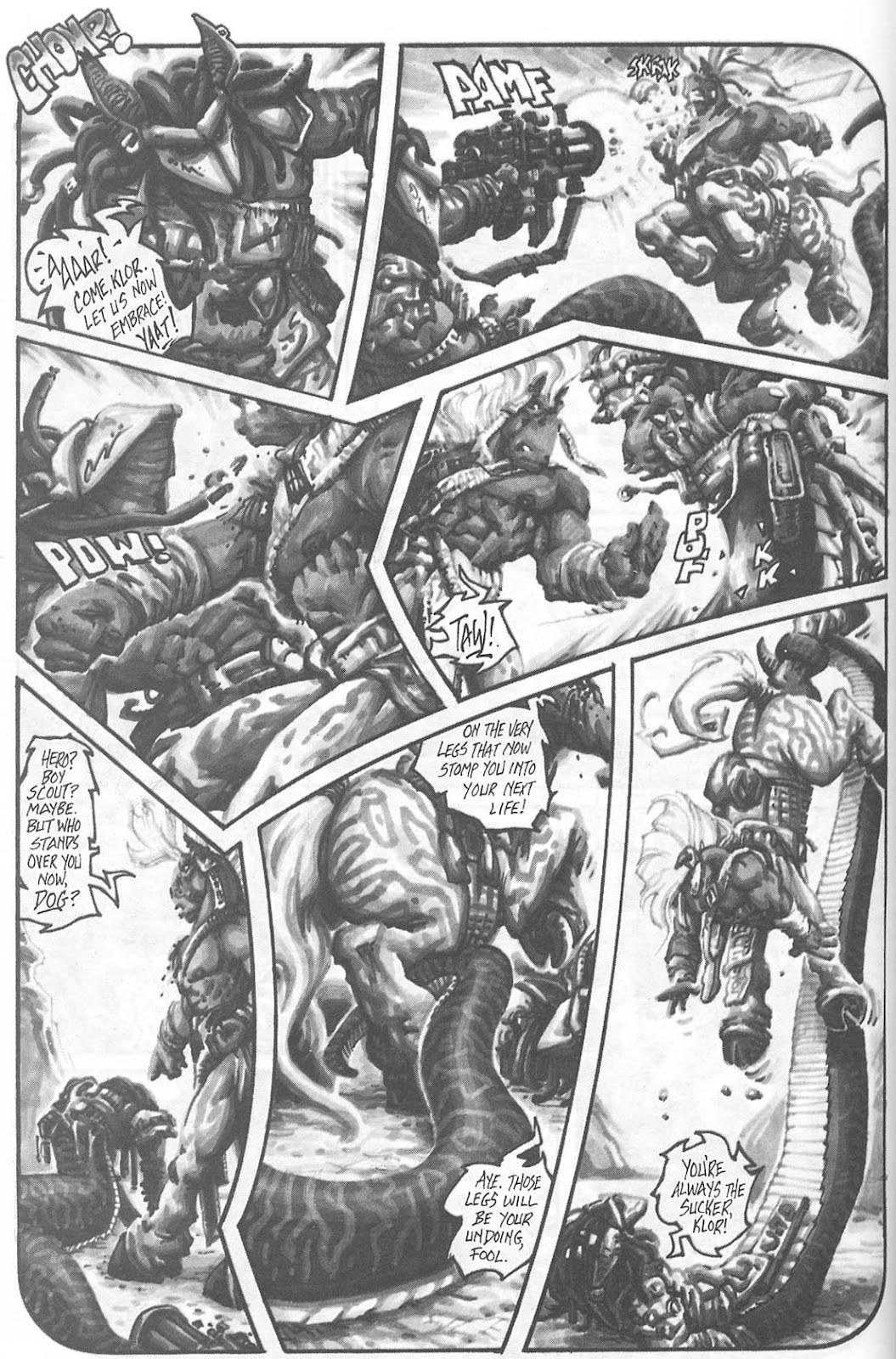 Read online Animal Mystic comic -  Issue #4 - 48