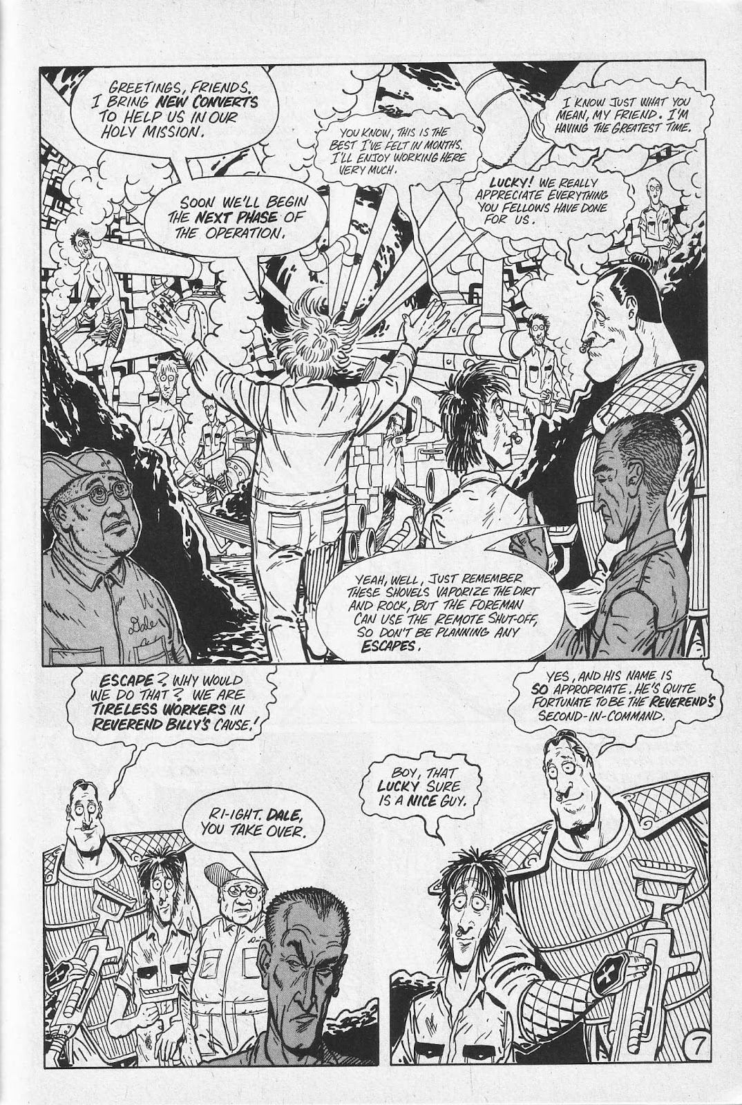 Read online Paul the Samurai (1991) comic -  Issue # TPB - 43