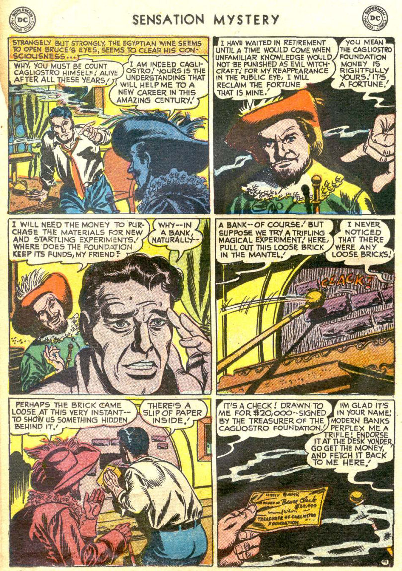Read online Sensation (Mystery) Comics comic -  Issue #114 - 16