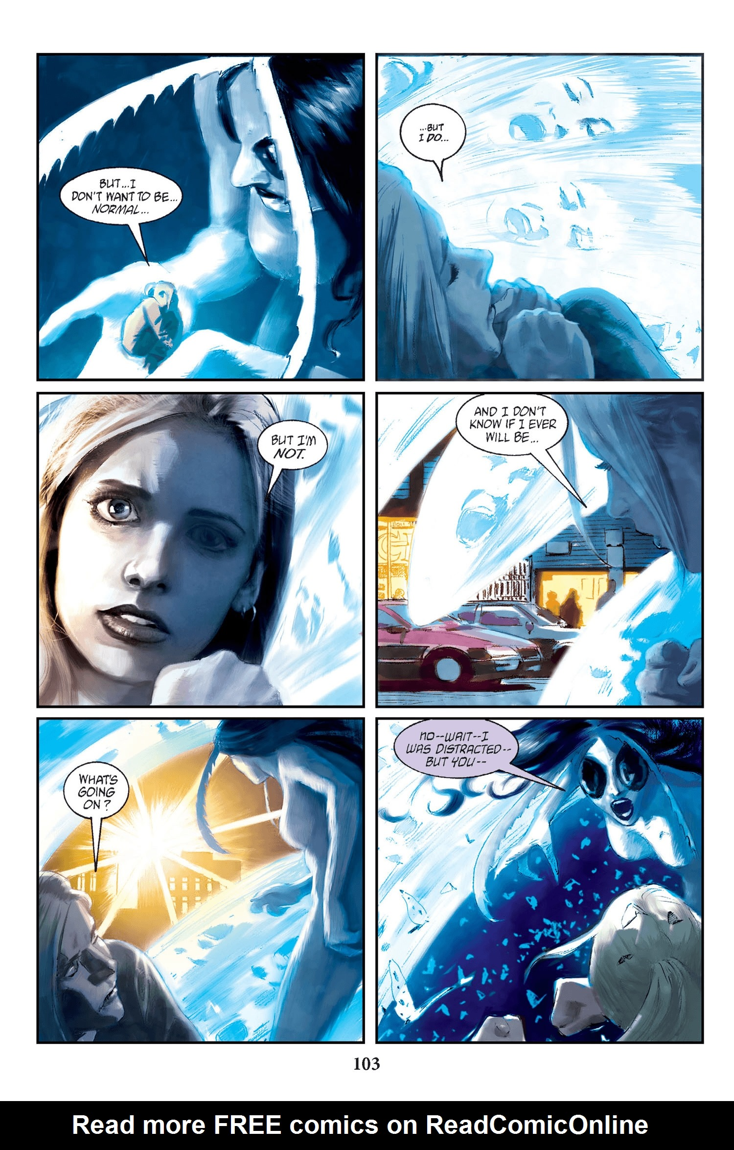 Read online Buffy the Vampire Slayer: Omnibus comic -  Issue # TPB 2 - 100
