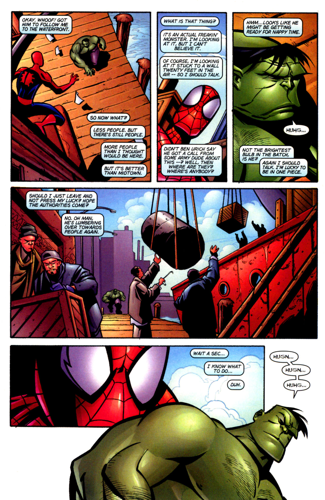 Read online Ultimate Marvel Team-Up comic -  Issue #3 - 14