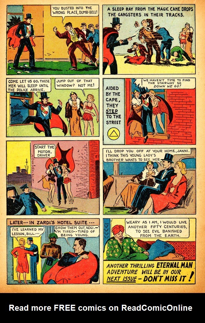 Read online Amazing Man Comics comic -  Issue #12 - 32
