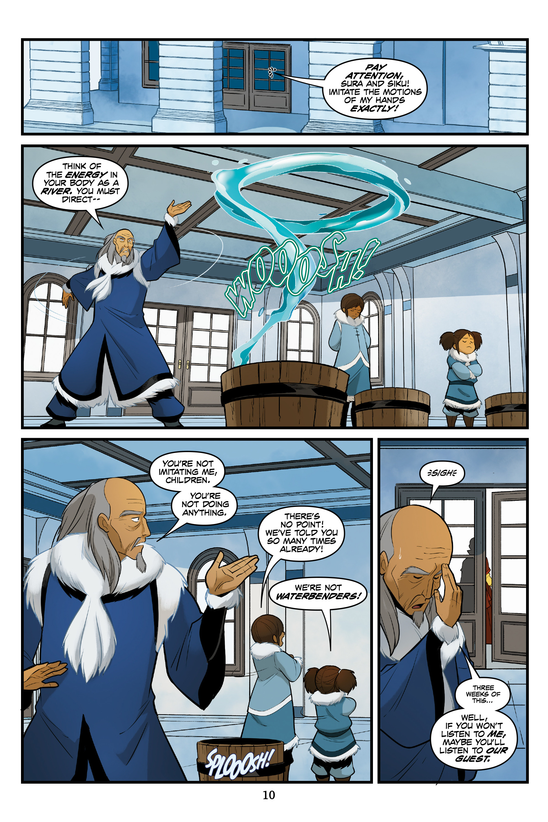Read online Nickelodeon Avatar: The Last Airbender - North and South comic -  Issue #3 - 11