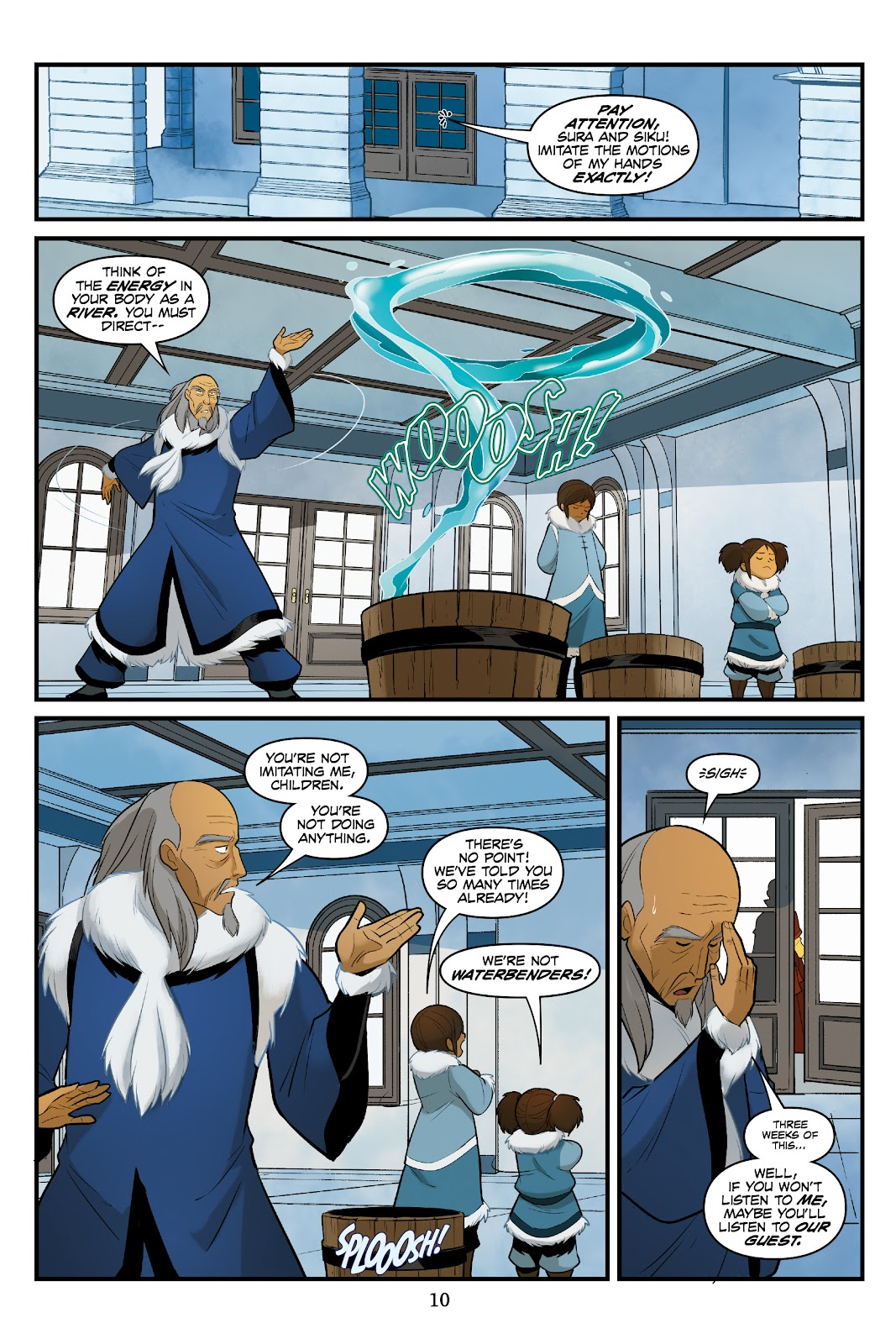 Nickelodeon Avatar: The Last Airbender - North and South issue 3 - Page 11