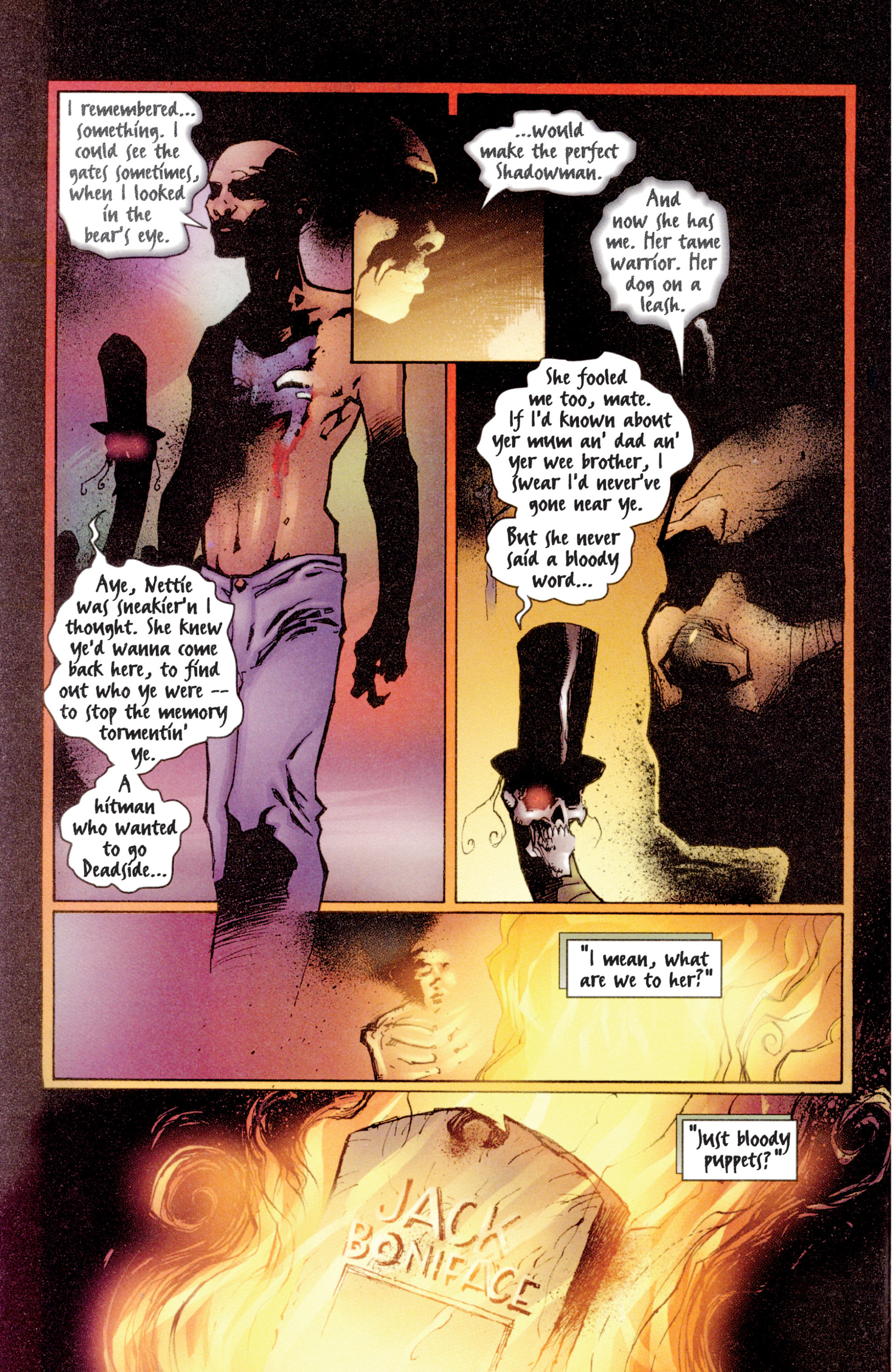 Read online Shadowman (1997) comic -  Issue #3 - 20