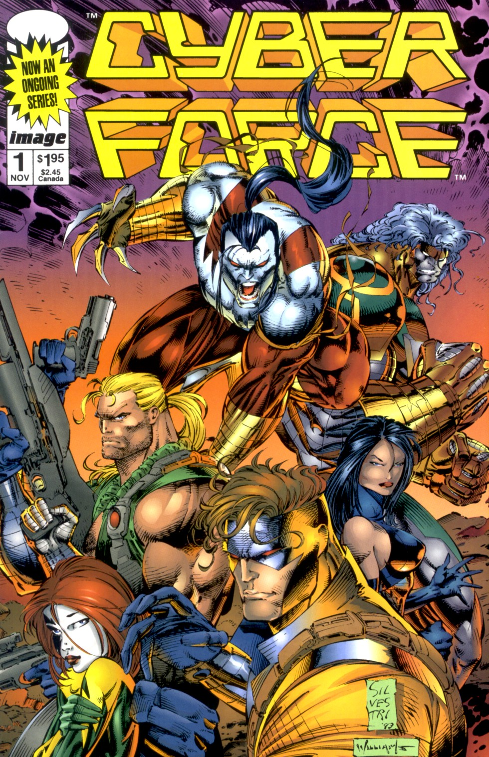 Cyberforce (1993) issue 1 - Page 1