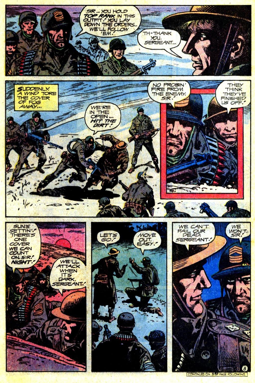 Read online Sgt. Rock comic -  Issue #336 - 8