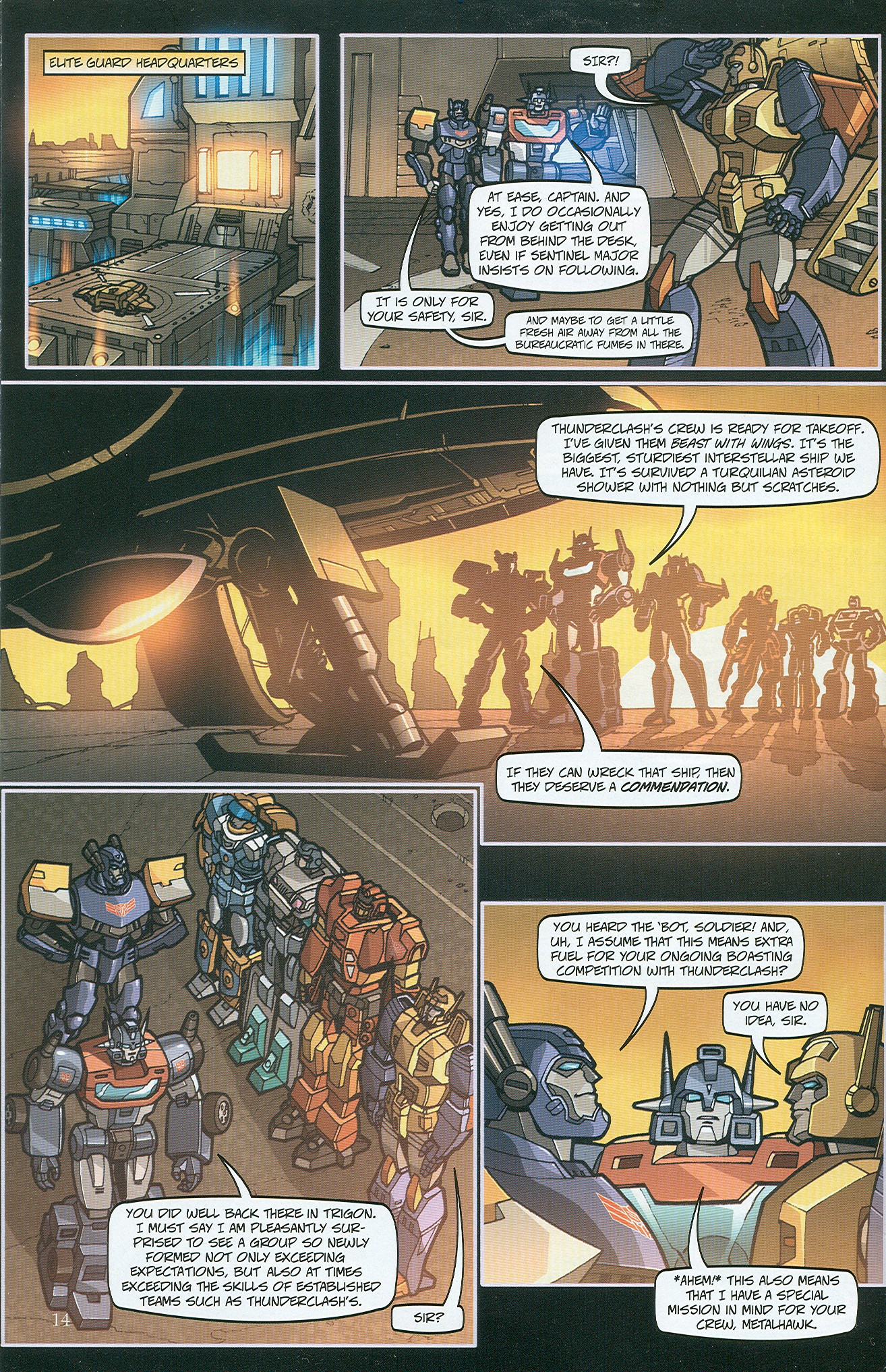 Read online Transformers: Collectors' Club comic -  Issue #32 - 14