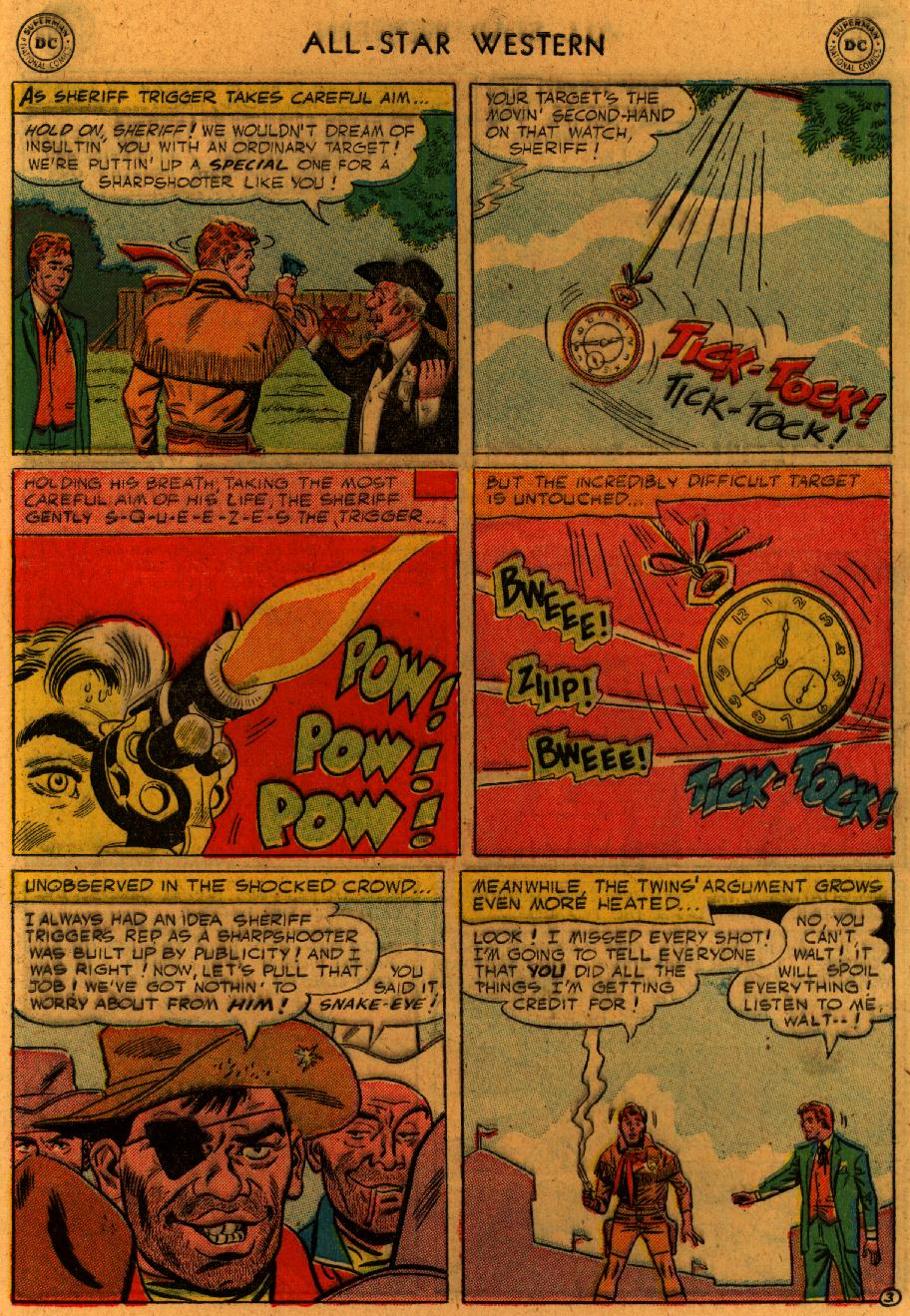 Read online All-Star Western (1951) comic -  Issue #89 - 6
