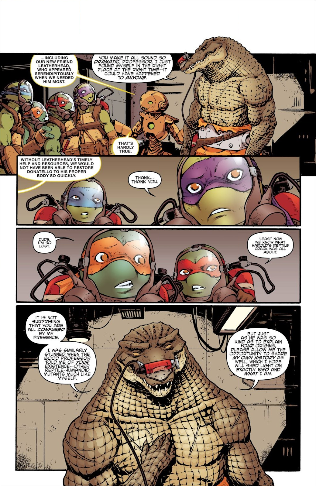 Read online Teenage Mutant Ninja Turtles: The IDW Collection comic -  Issue # TPB 7 (Part 2) - 32