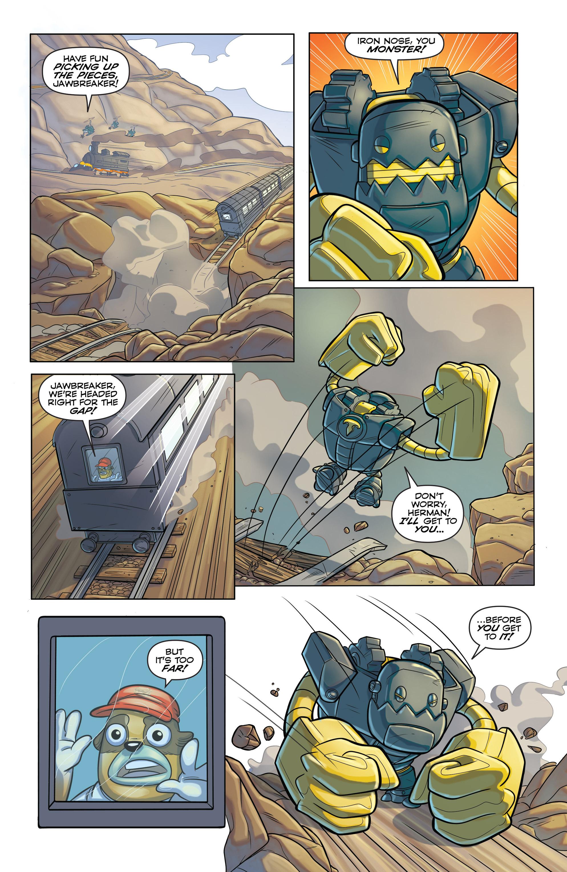 Read online Skylanders comic -  Issue #6 - 13