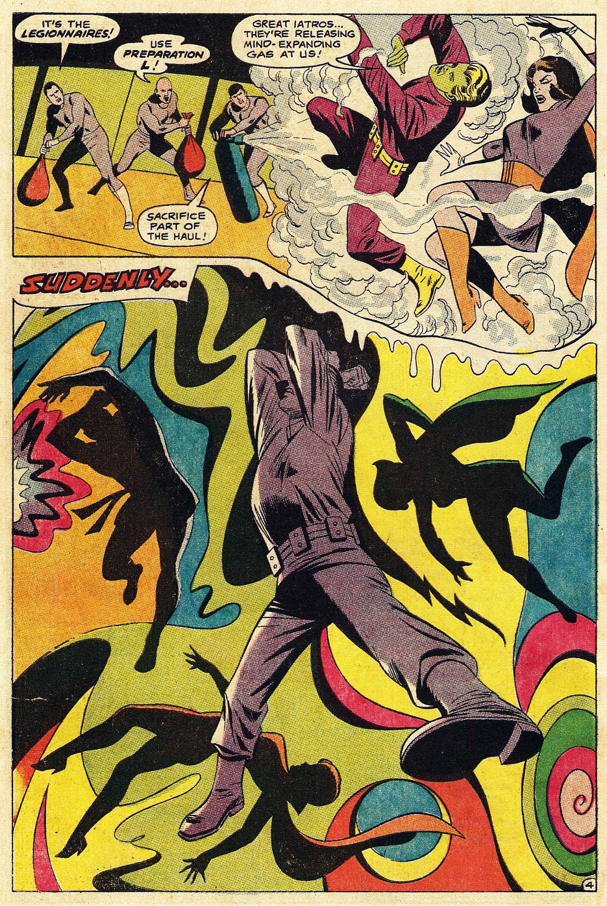 Read online Adventure Comics (1938) comic -  Issue #377 - 6