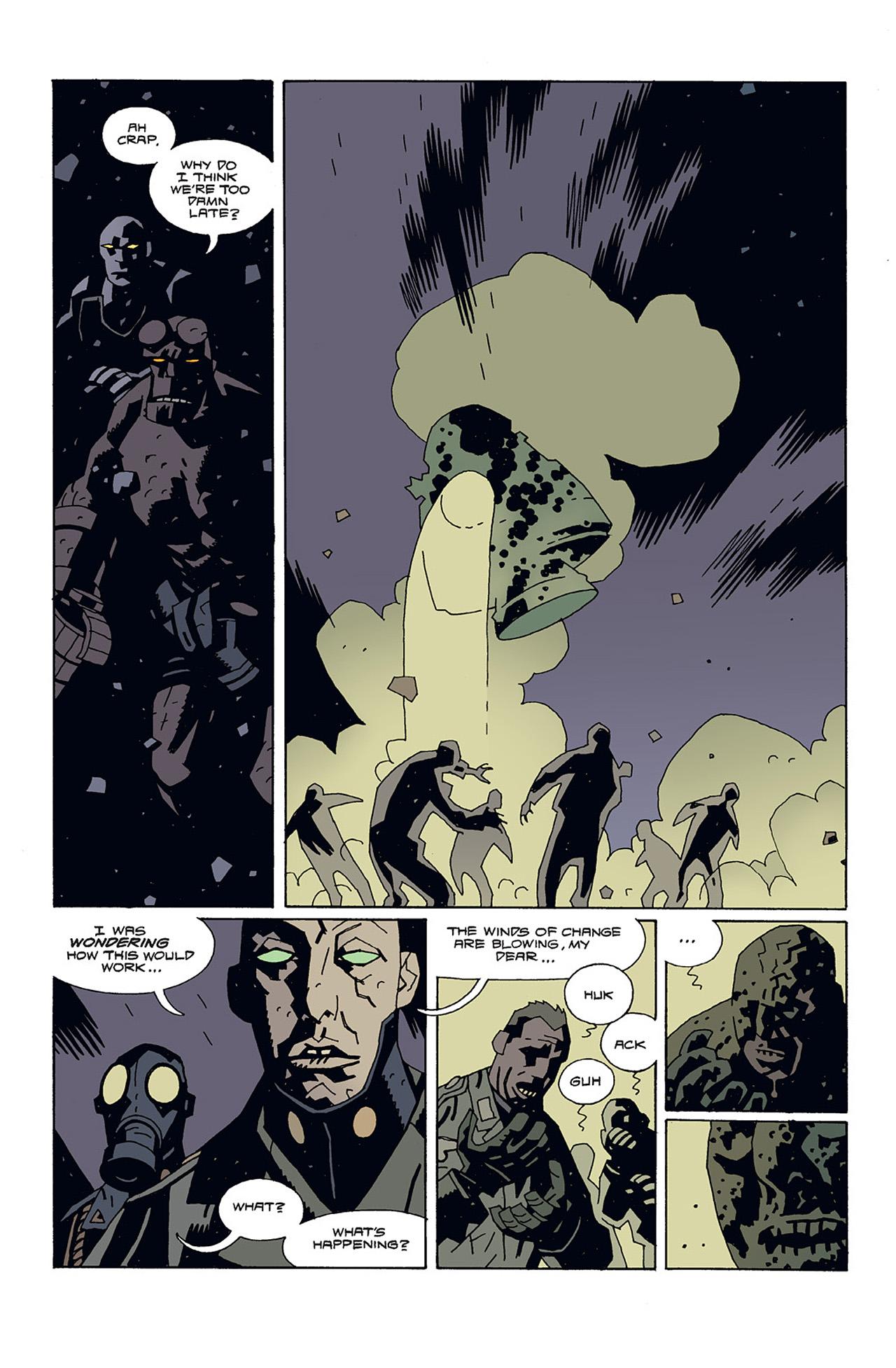 Read online Hellboy: Conqueror Worm comic -  Issue #3 - 6