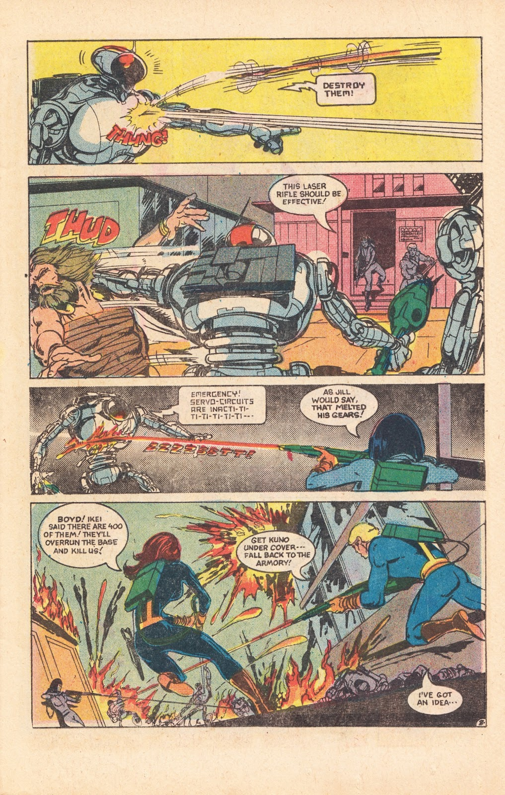 Read online Doomsday   1 (1975) comic -  Issue #8 - 11