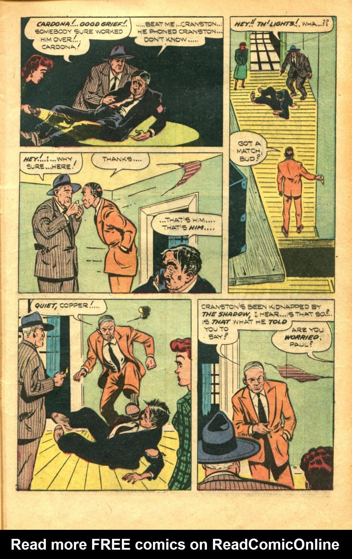 Read online Shadow Comics comic -  Issue #91 - 13