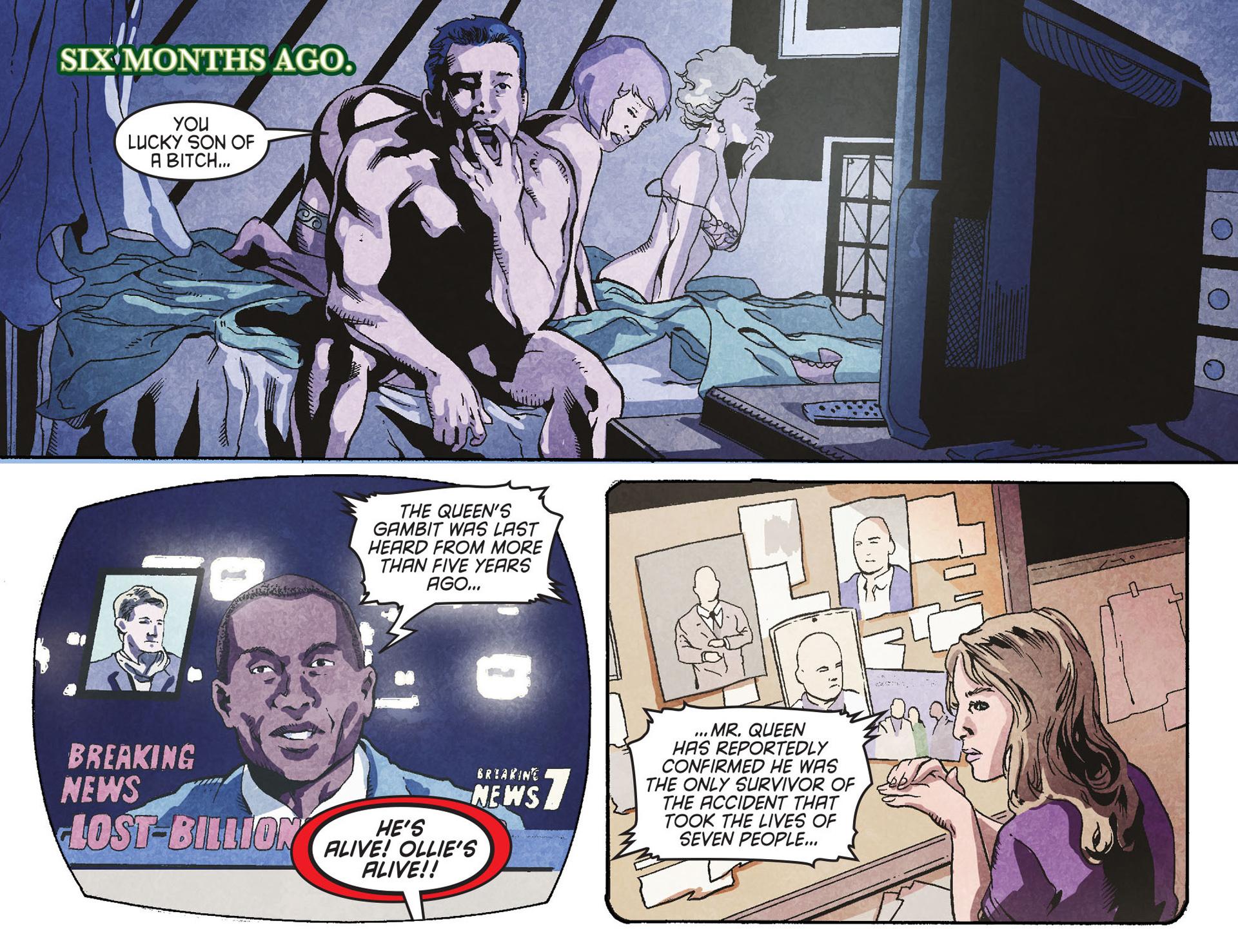 Read online Arrow [II] comic -  Issue #26 - 17