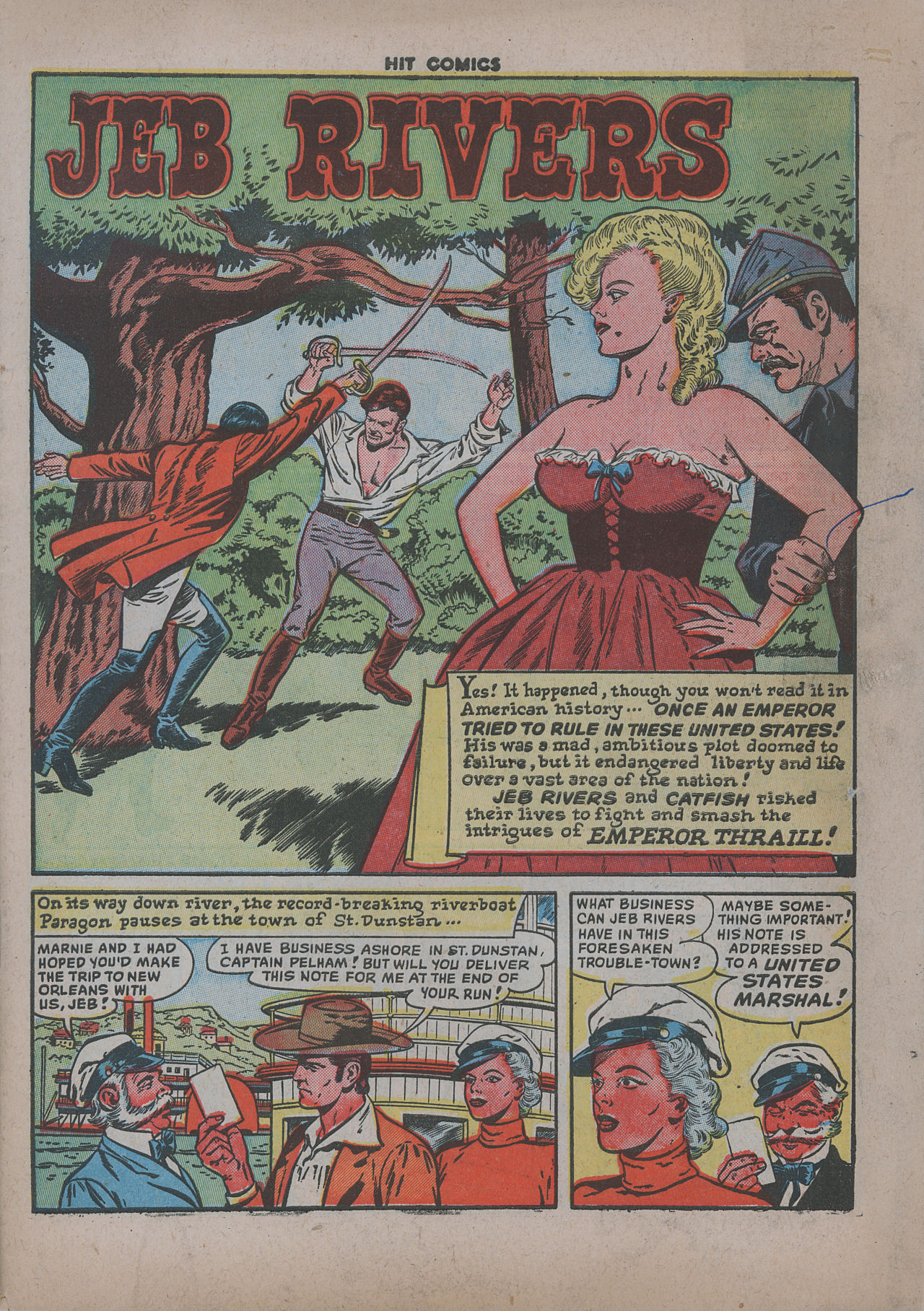 Read online Hit Comics comic -  Issue #62 - 4