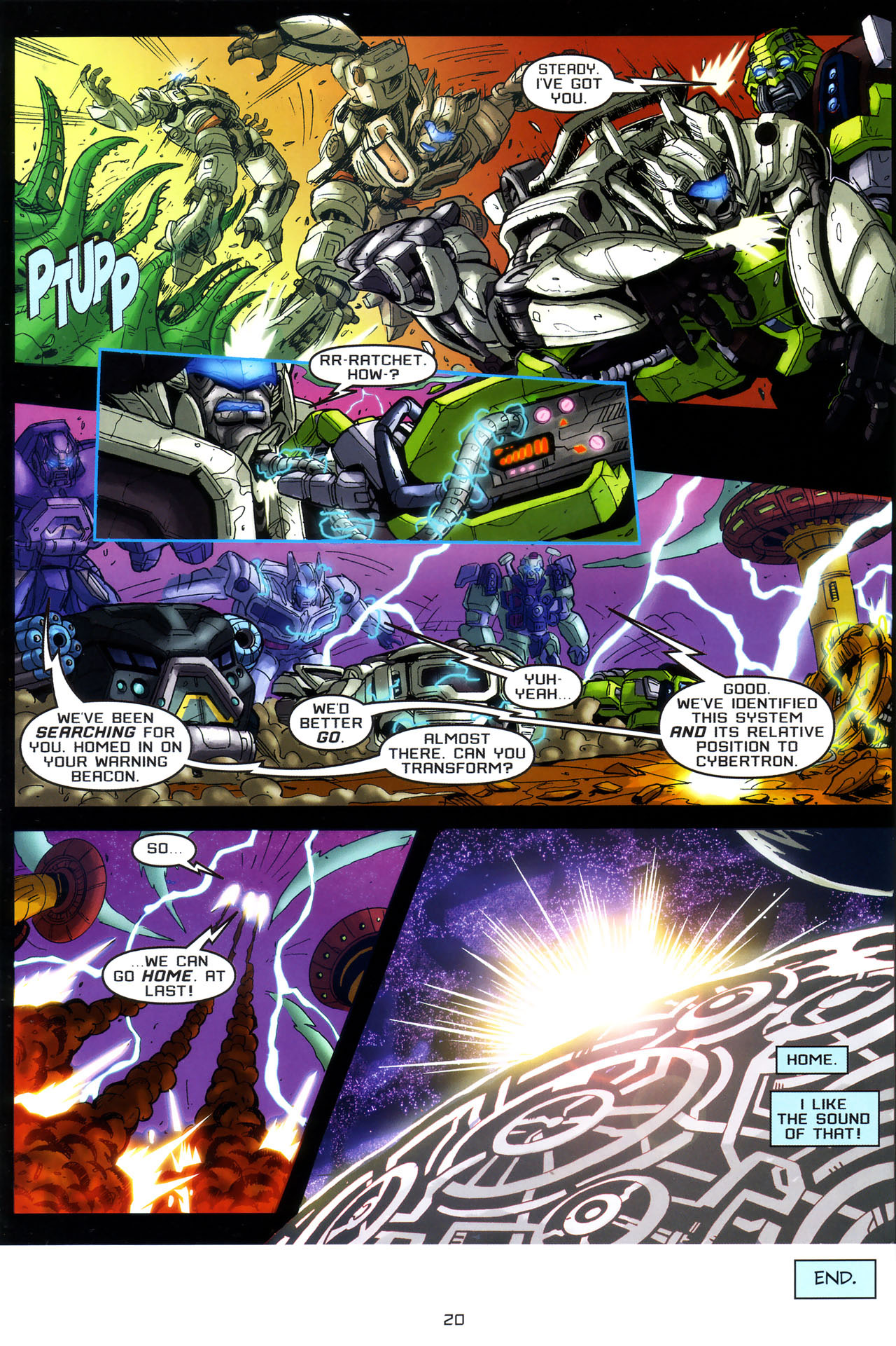 Read online Transformers: Saga of the Allspark comic -  Issue #3 - 23