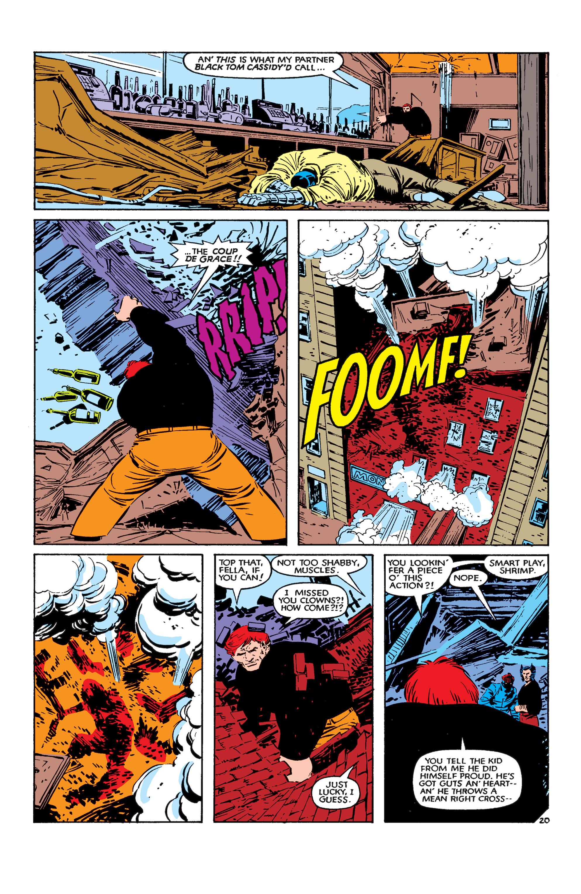 Read online Uncanny X-Men (1963) comic -  Issue #183 - 21