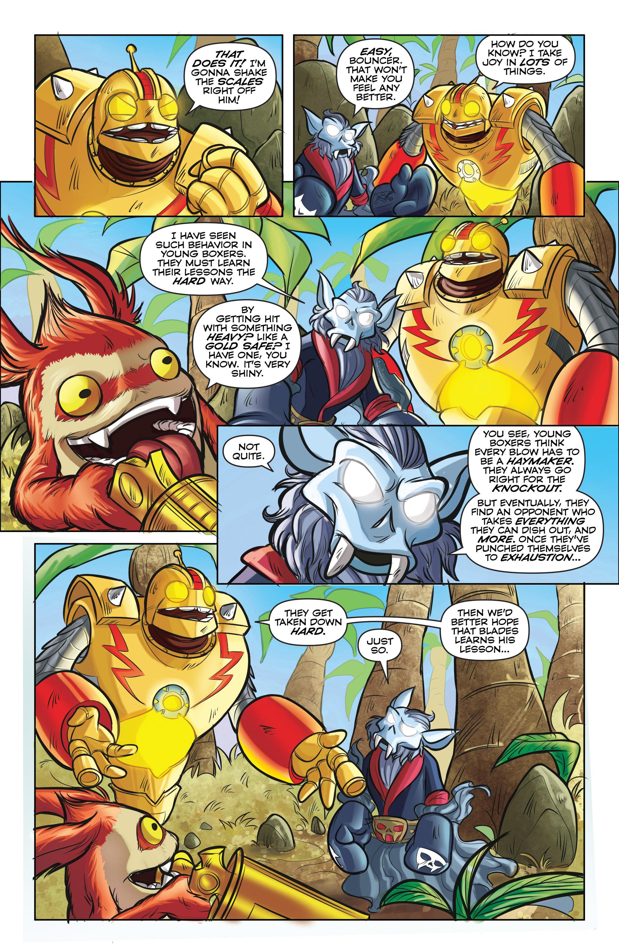 Read online Skylanders comic -  Issue #5 - 8
