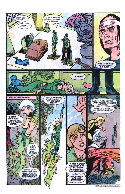 Read online Amethyst, Princess of Gemworld comic -  Issue #11 - 22