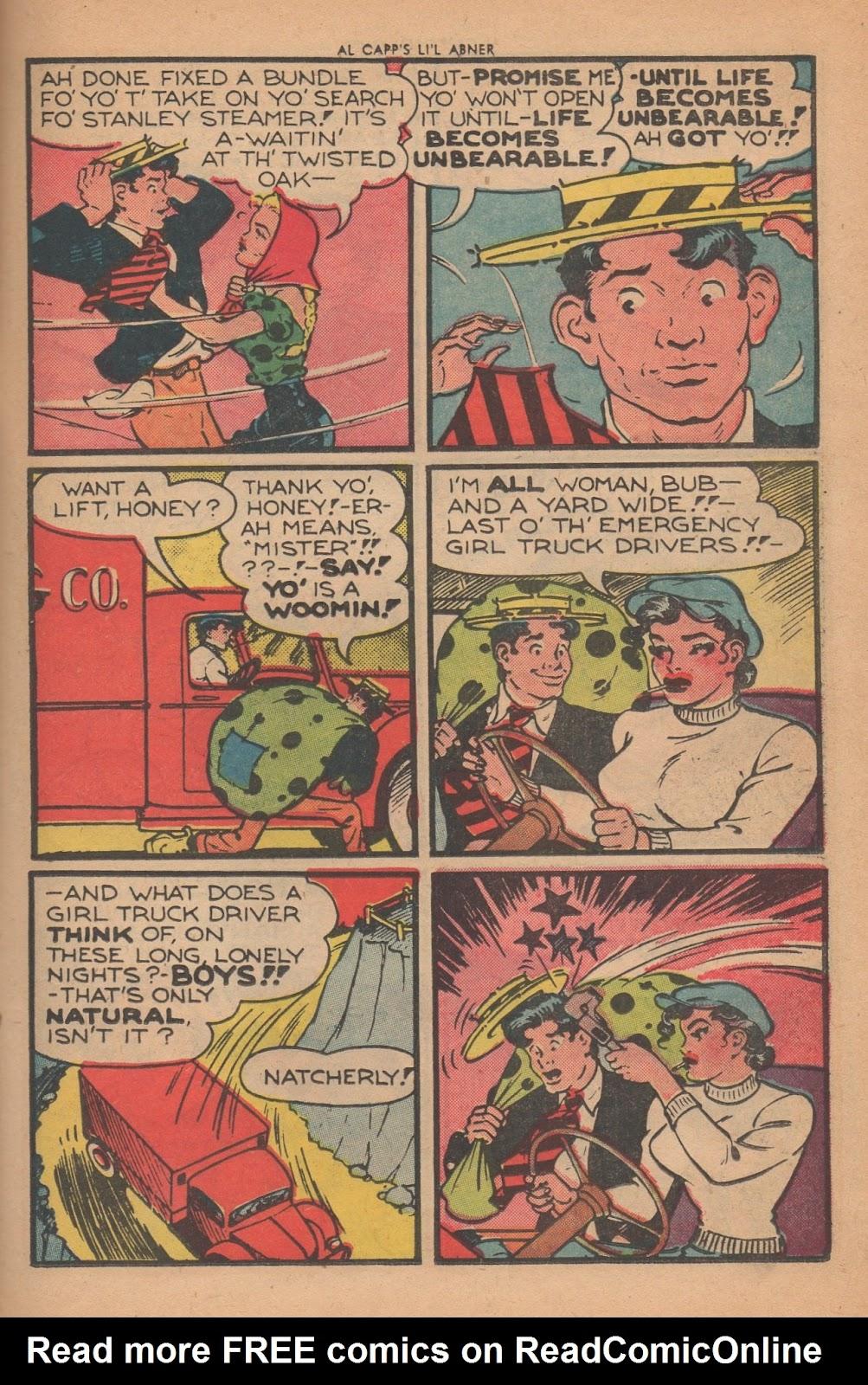 Li'l Abner Comics issue 77 - Page 13