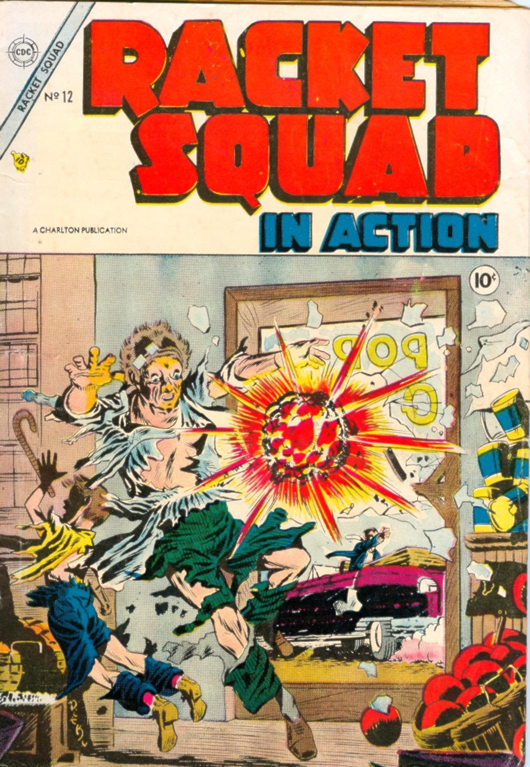 Read online Racket Squad in Action comic -  Issue #12 - 1