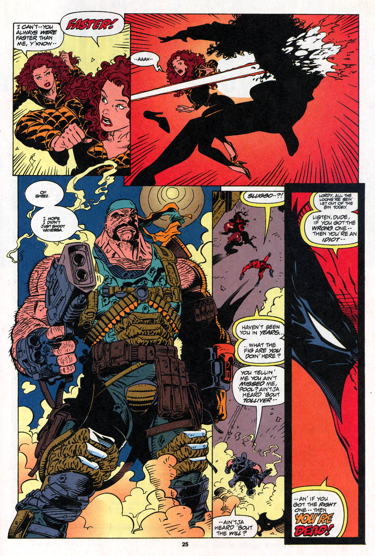 Read online X-Force (1991) comic -  Issue #22 - 25