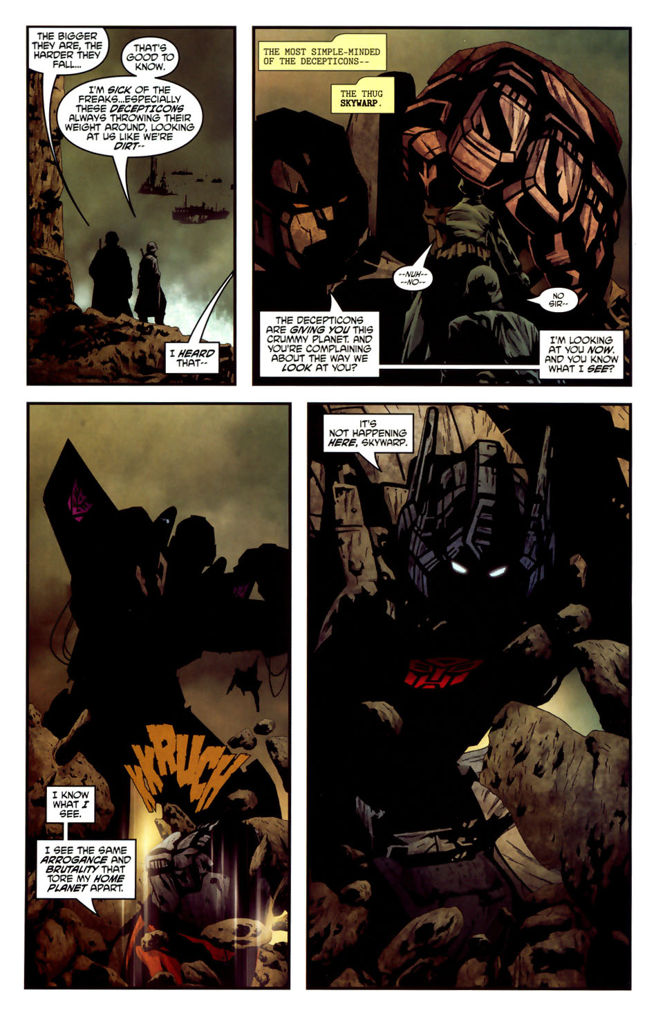 Read online Transformers/G.I. Joe comic -  Issue #6 - 9