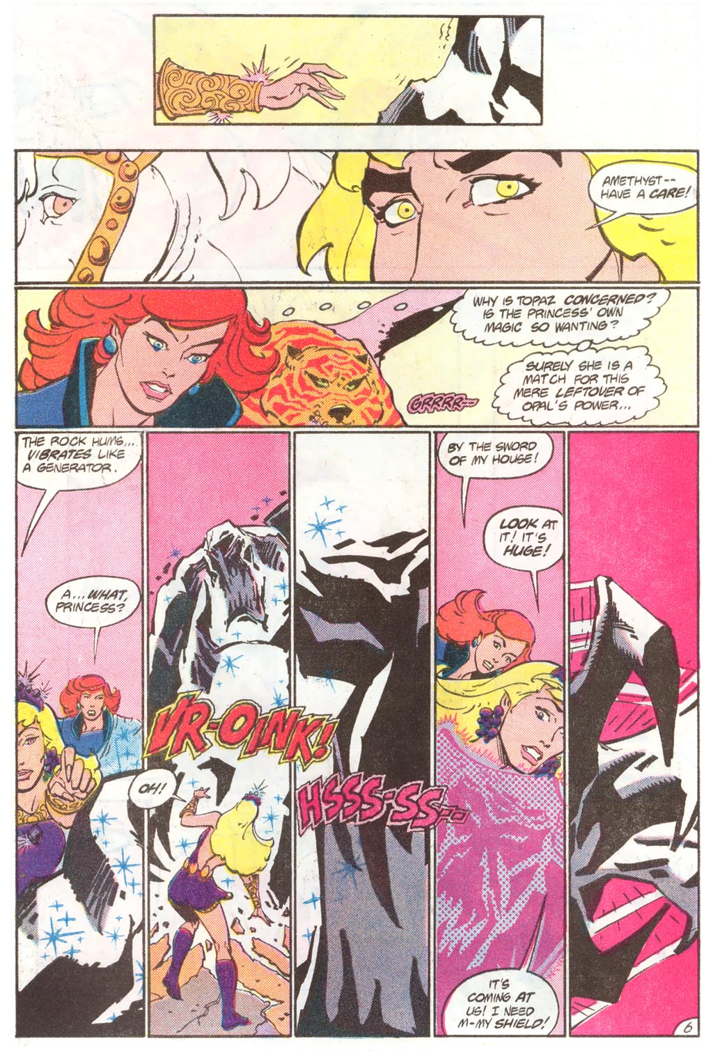 Read online Amethyst (1985) comic -  Issue #11 - 10