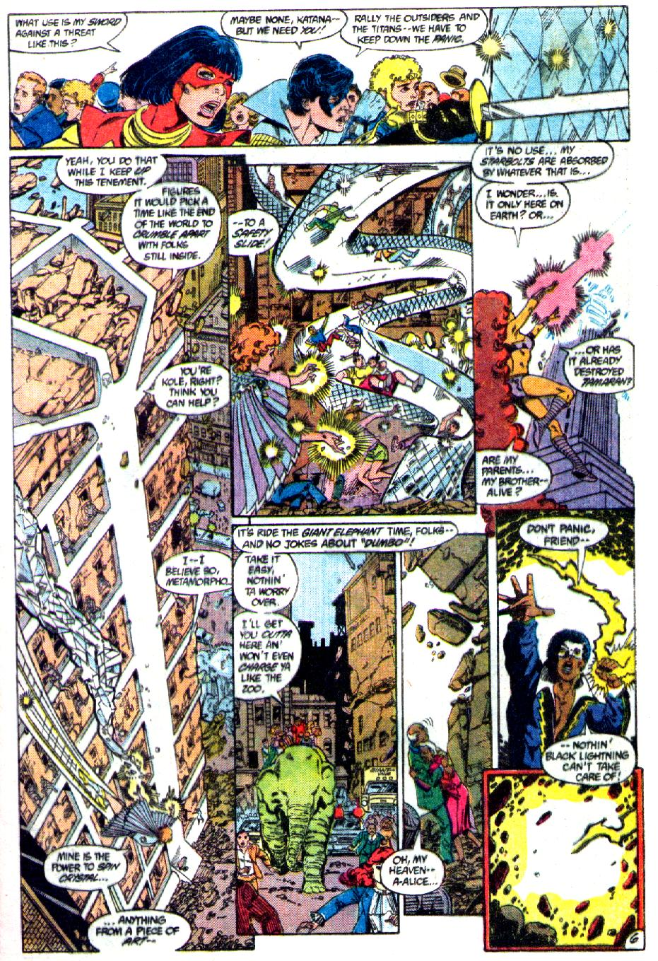 Read online Crisis on Infinite Earths (1985) comic -  Issue #3 - 7