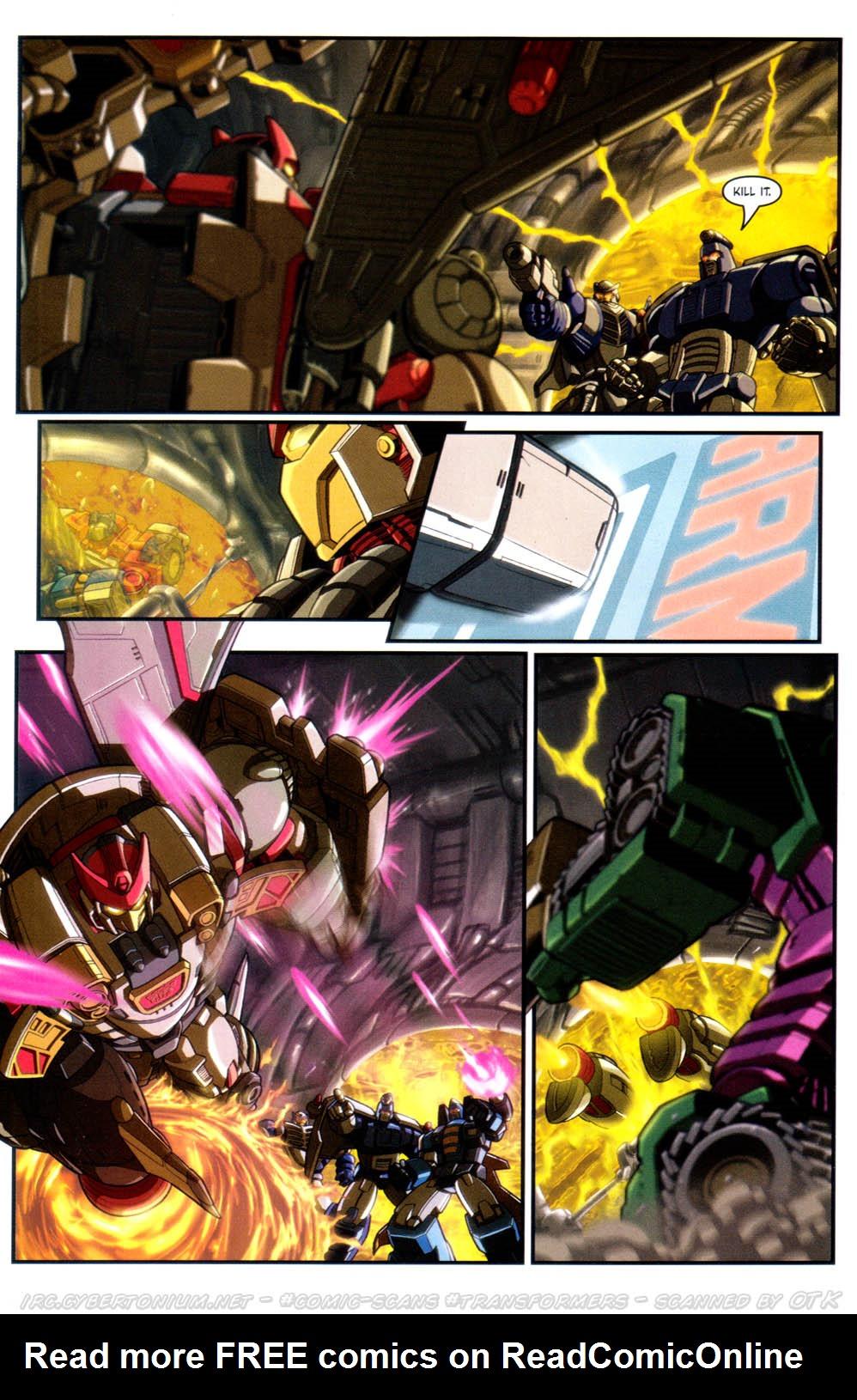 Read online Transformers Armada comic -  Issue #17 - 16