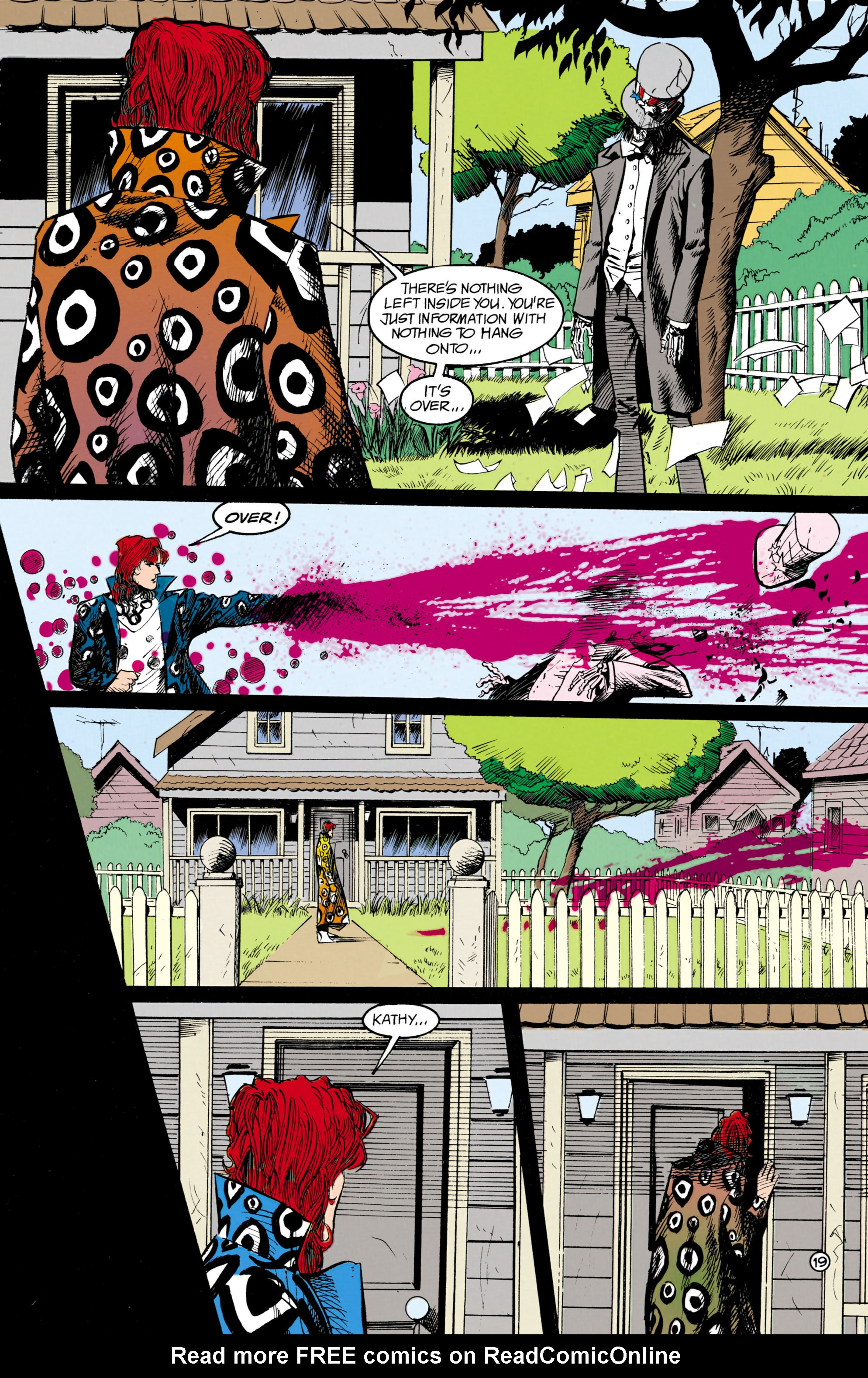 Read online Shade, the Changing Man comic -  Issue #18 - 19