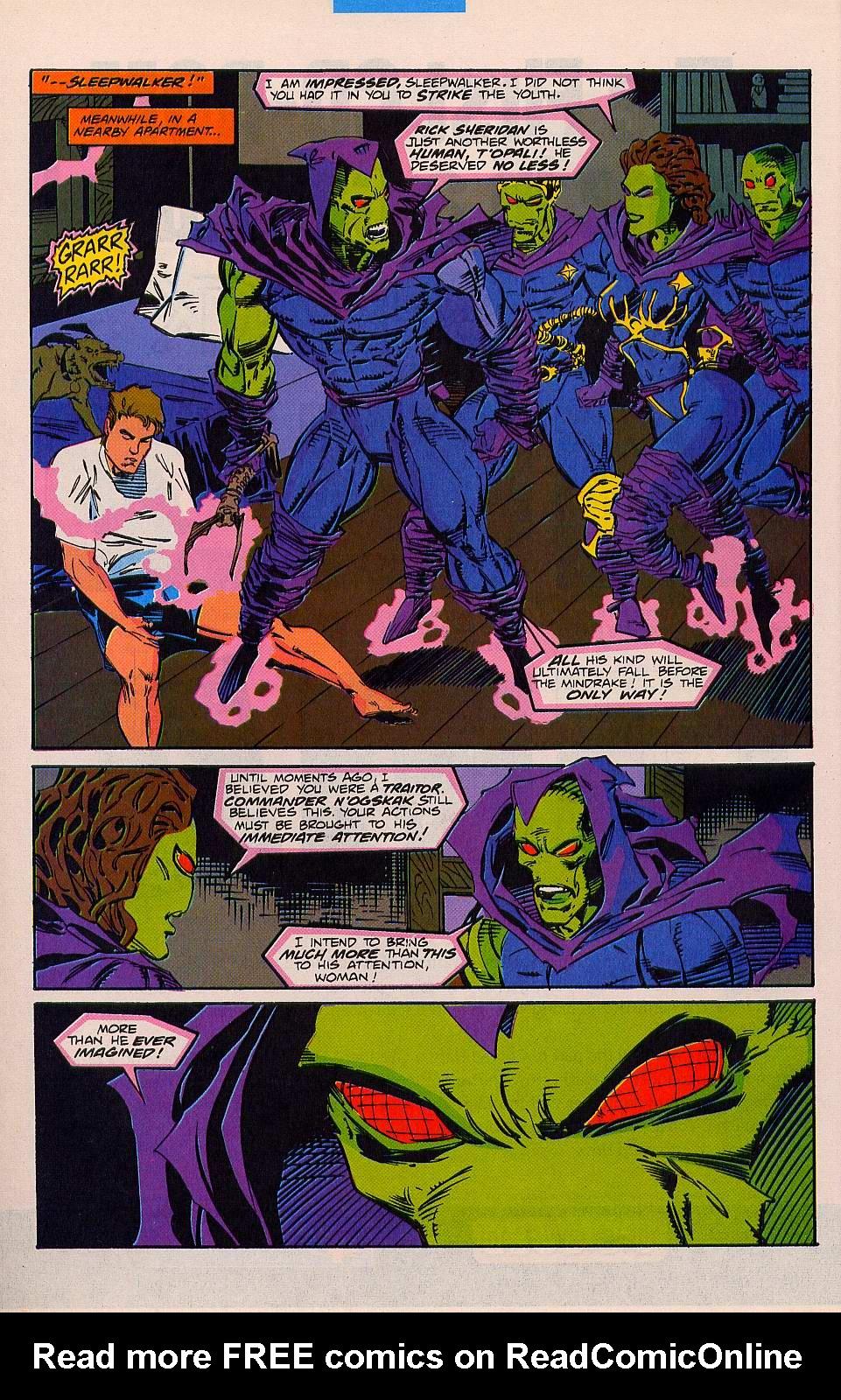 Read online Sleepwalker comic -  Issue #26 - 7