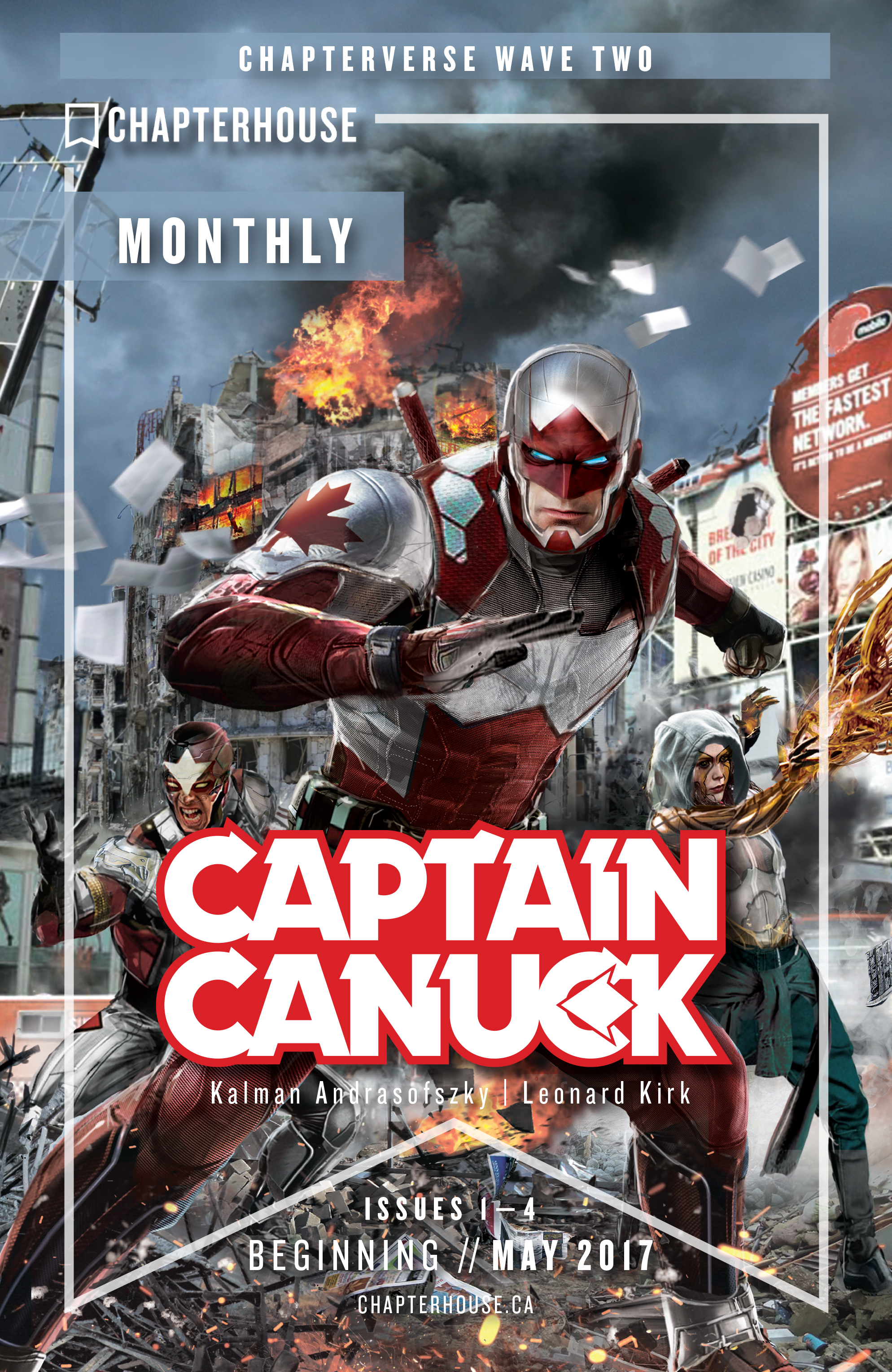Read online All-New Classic Captain Canuck comic -  Issue #4 - 29