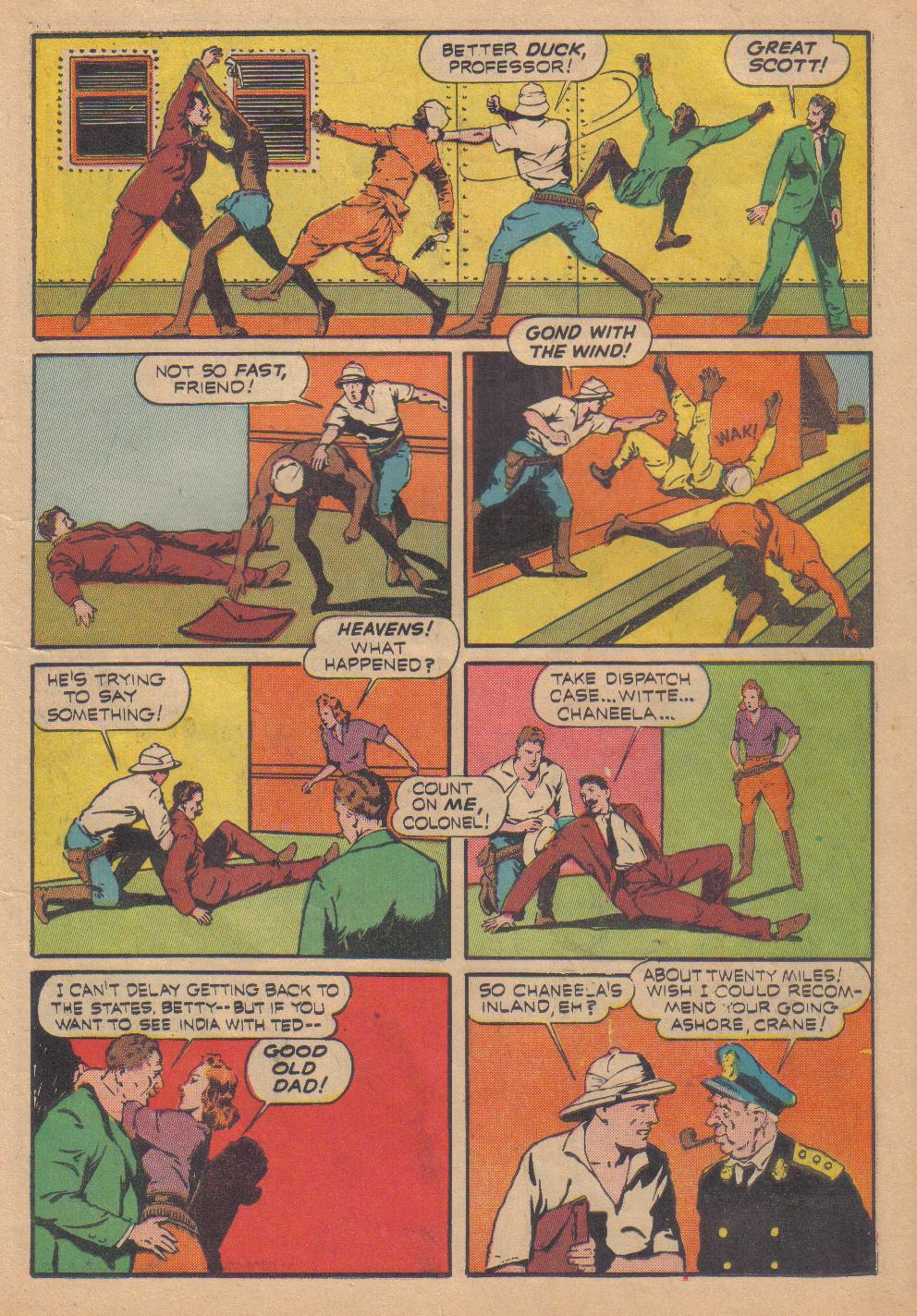 Exciting Comics (1940) issue 13 - Page 19