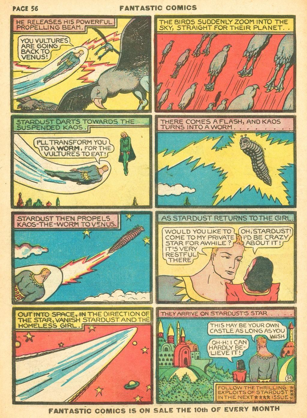 Read online Fantastic Comics comic -  Issue #12 - 58