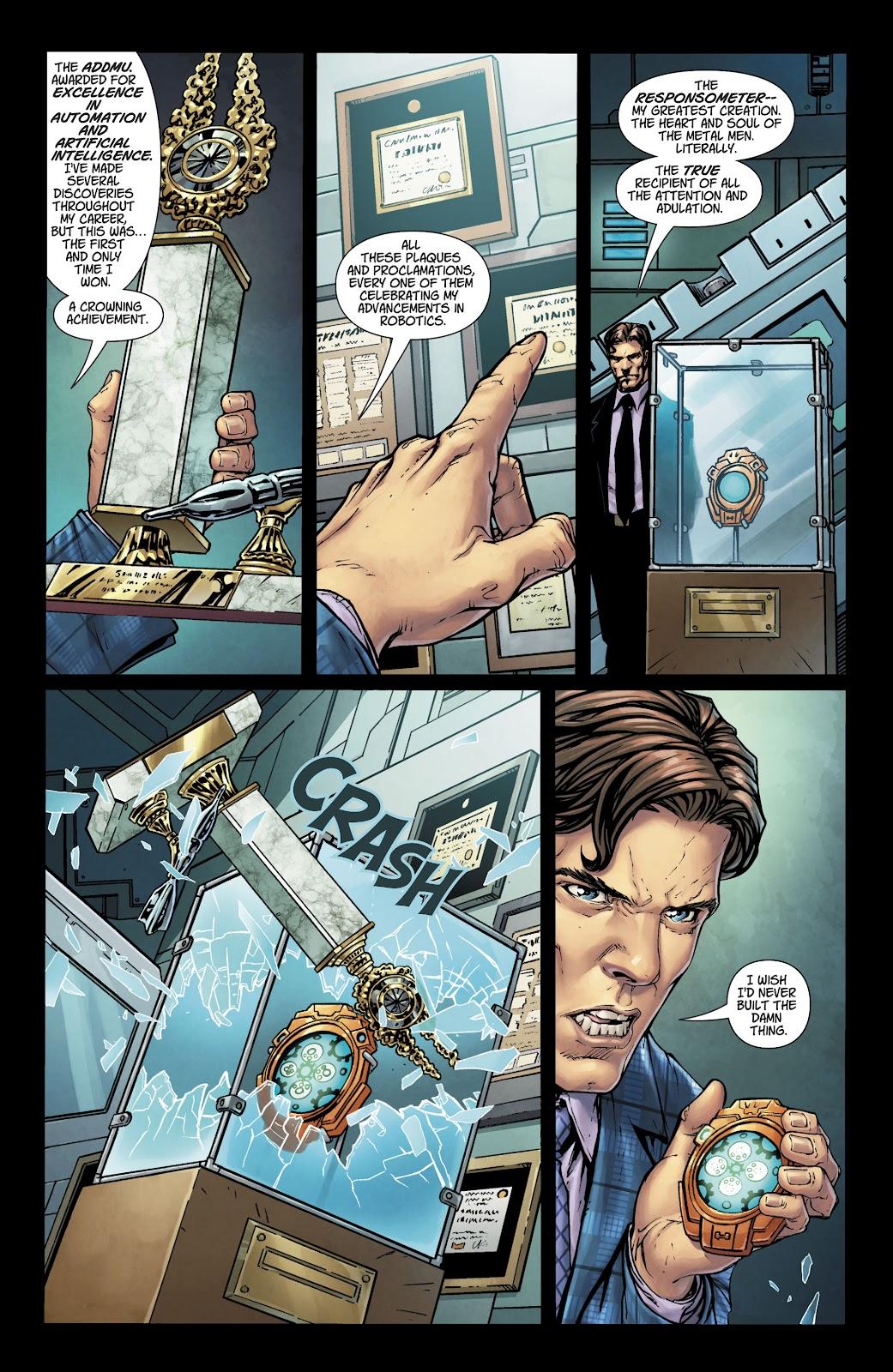 Read online Metal Men (2019) comic -  Issue #1 - 7