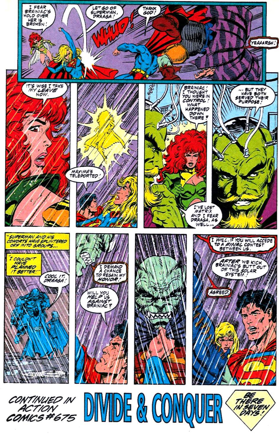 Read online Adventures of Superman (1987) comic -  Issue #488 - 23