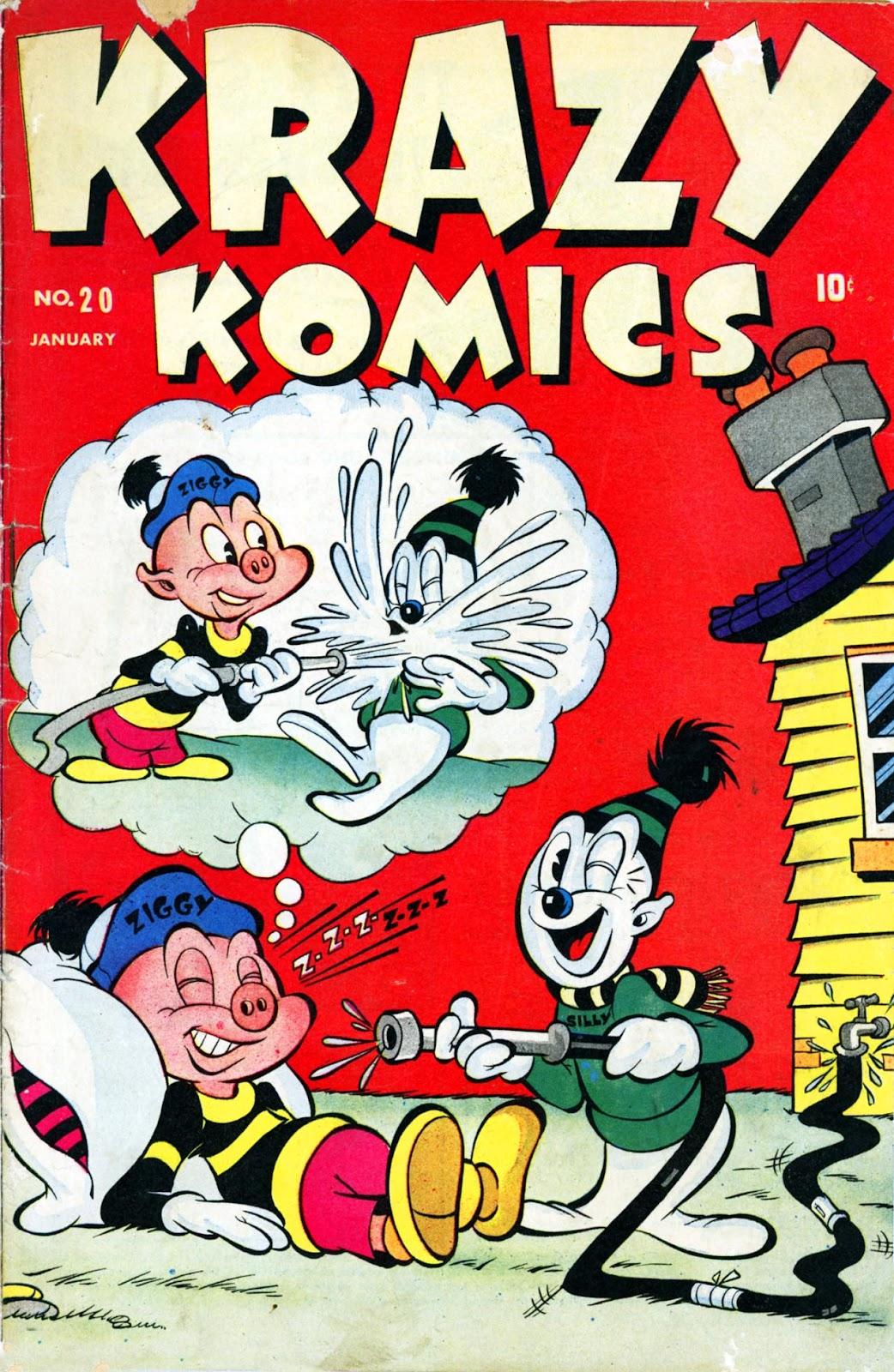 Krazy Komics issue 20 - Page 1