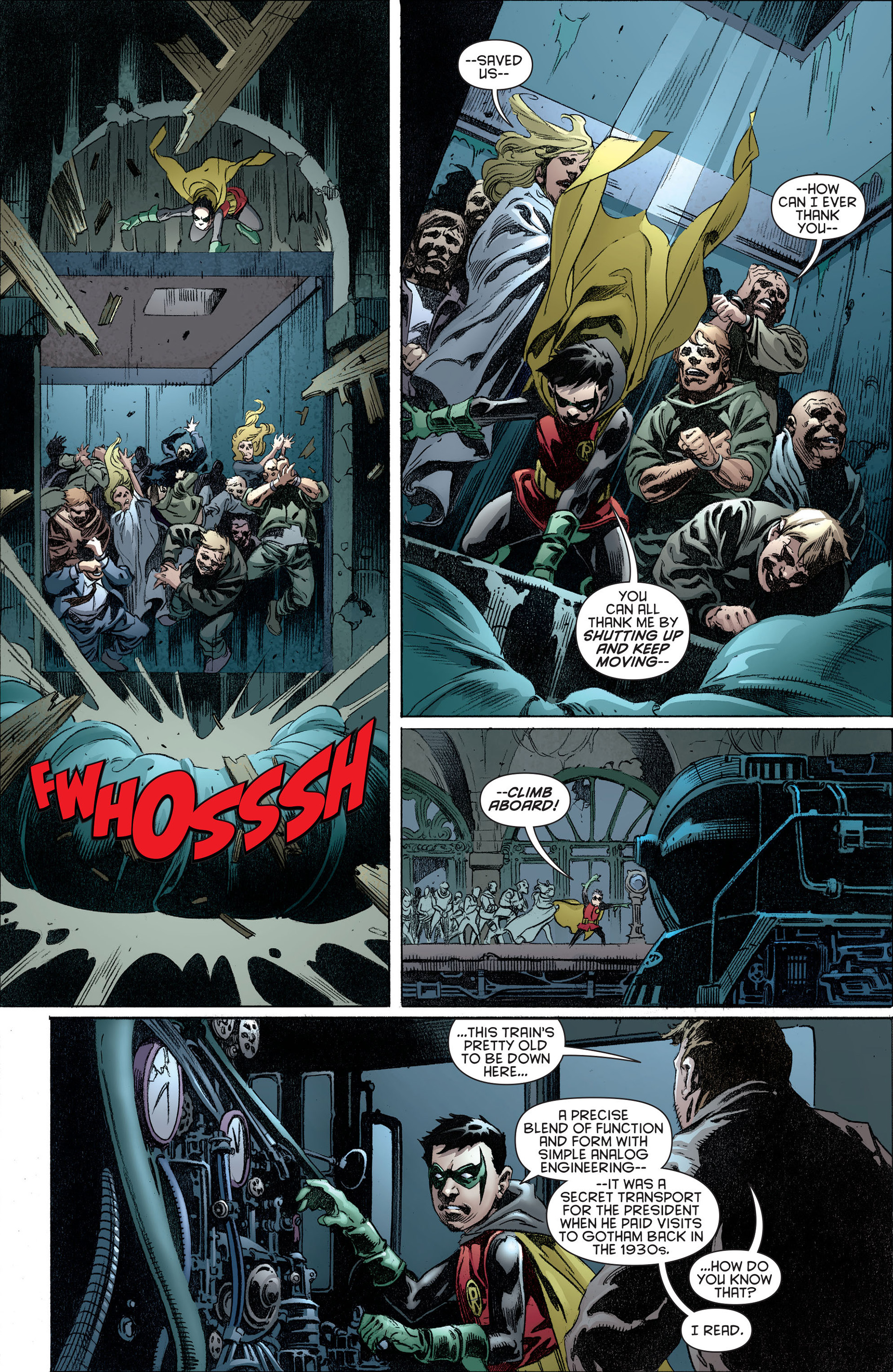 Read online Batman and Robin (2011) comic -  Issue #14 - 12