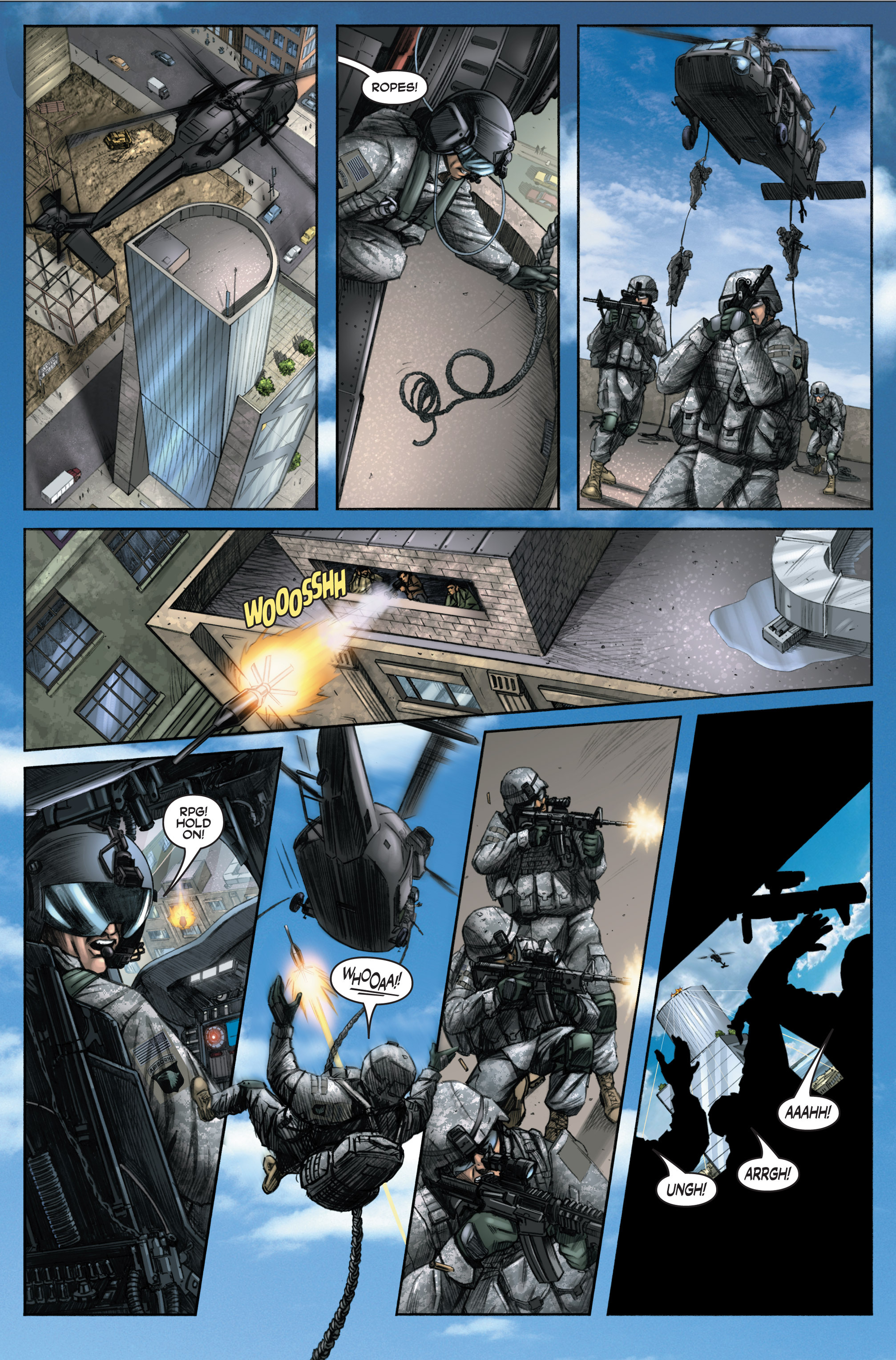 Read online America's Army comic -  Issue #6 - 13